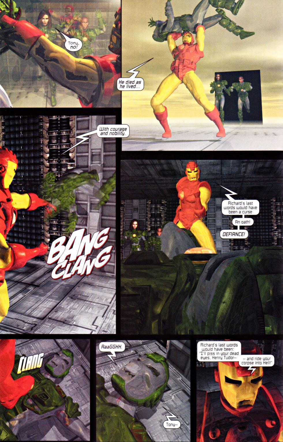 Read online U.S. War Machine 2.0 comic -  Issue #1 - 10