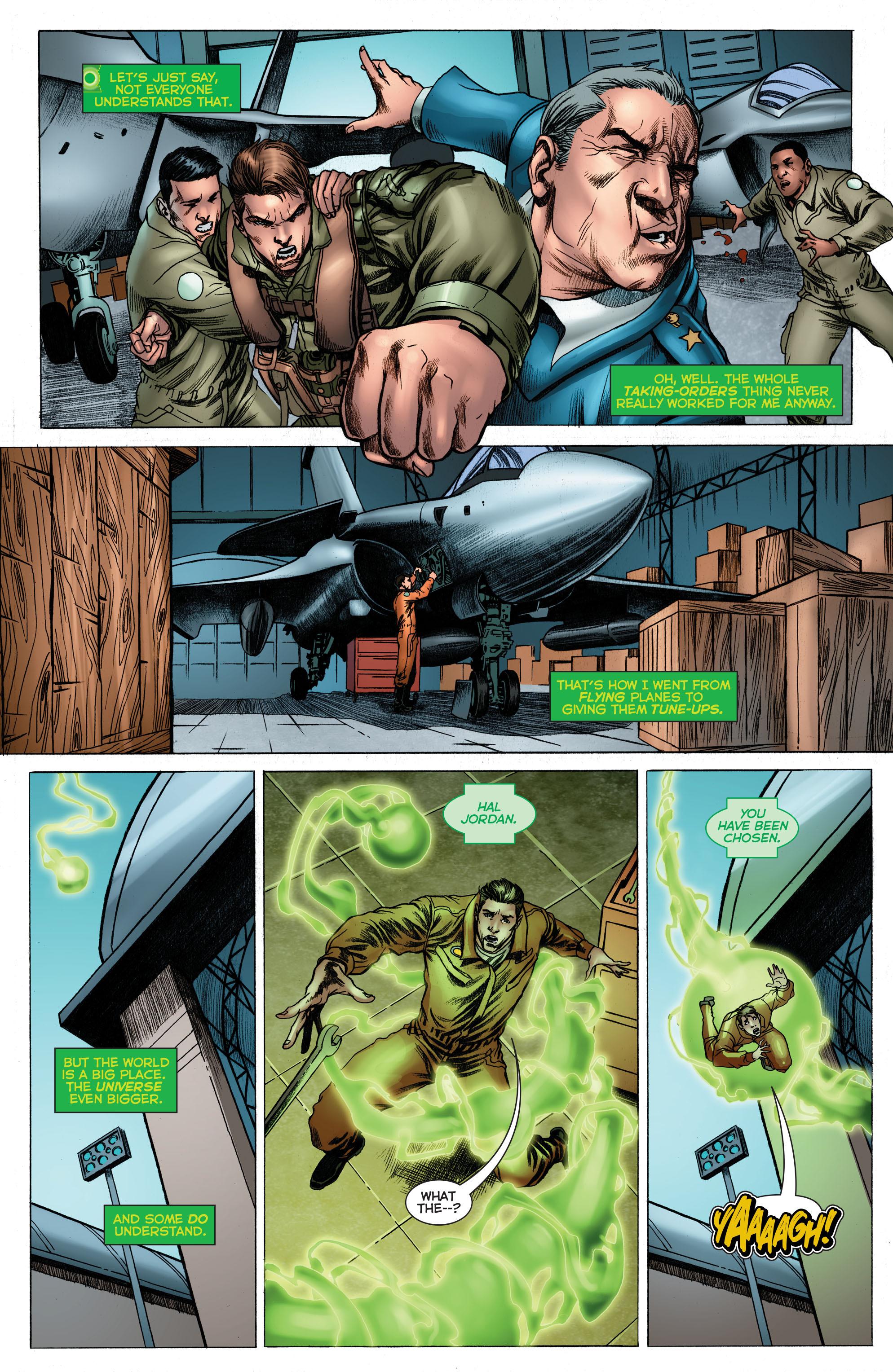 Read online Secret Origins (2014) comic -  Issue #3 - 6