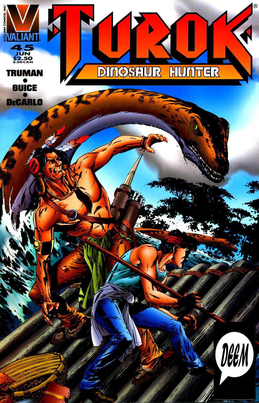 Read online Turok, Dinosaur Hunter (1993) comic -  Issue #45 - 1