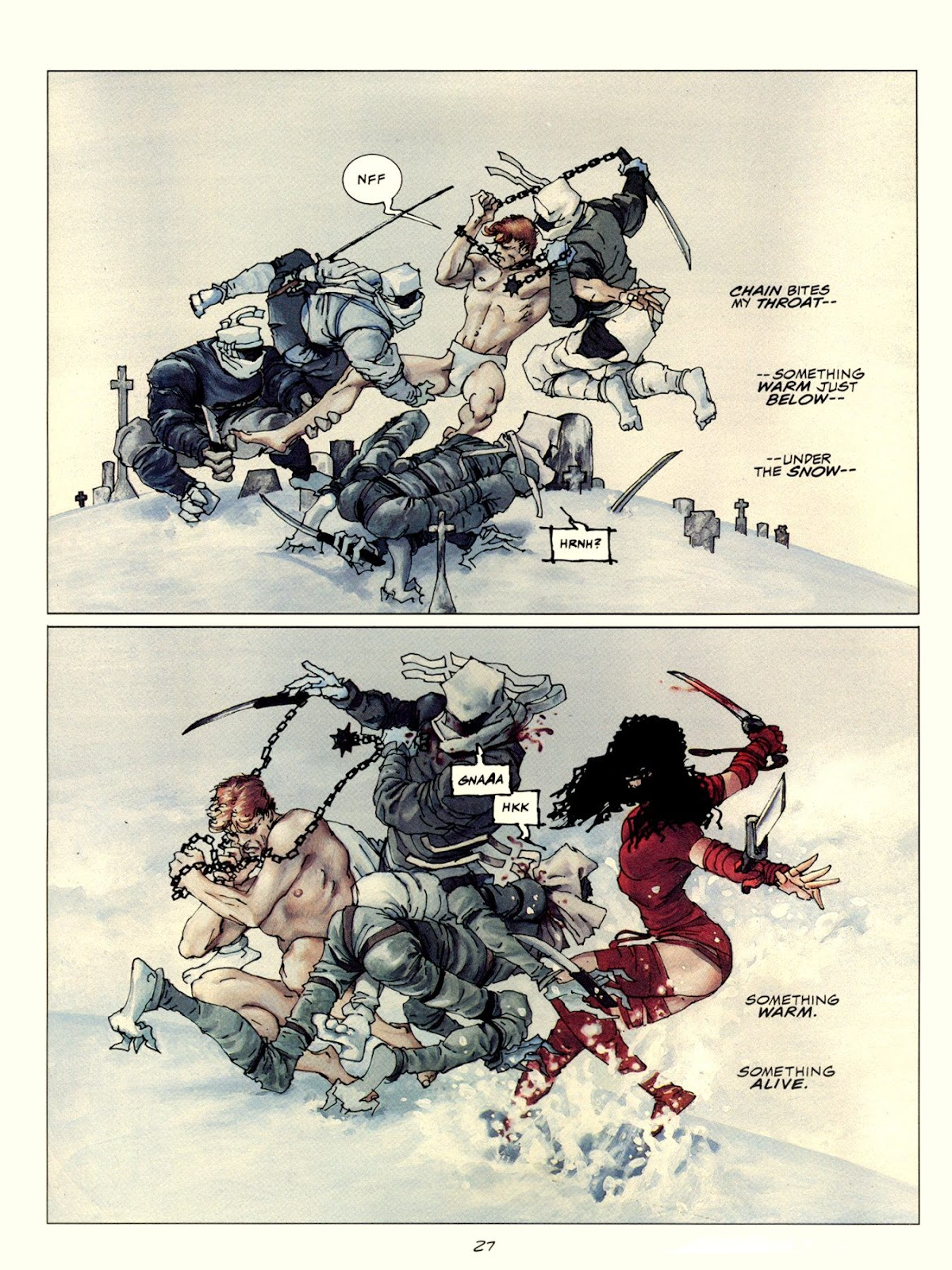 Elektra Lives Again issue Full - Page 34