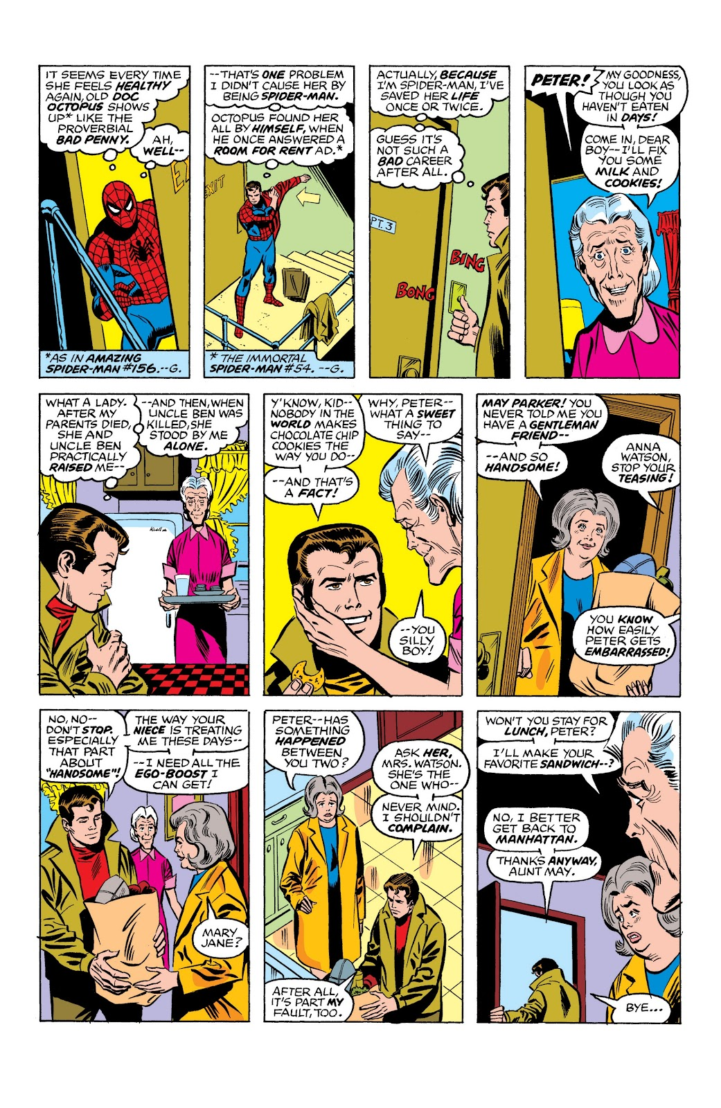 Read online Marvel Masterworks: The Spectacular Spider-Man comic -  Issue # TPB (Part 1) - 32