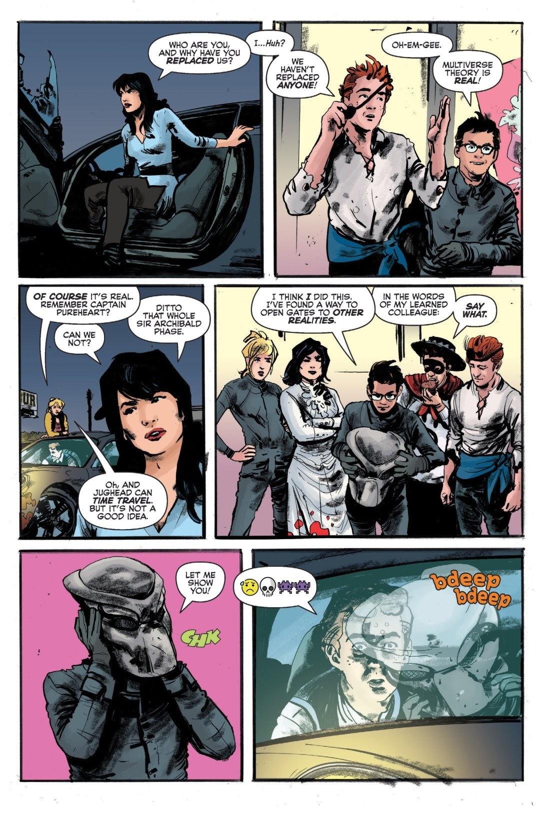Archie vs. Predator II #1 #1 - English 23