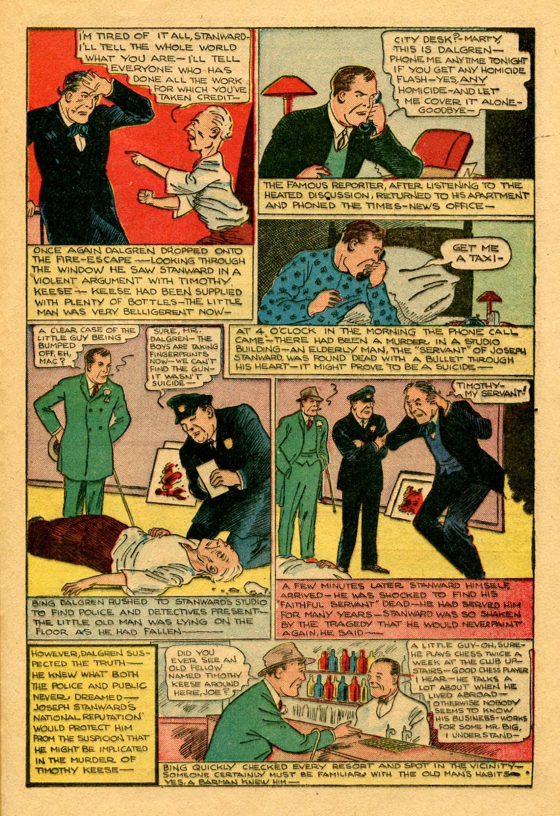 Read online Shadow Comics comic -  Issue #53 - 34