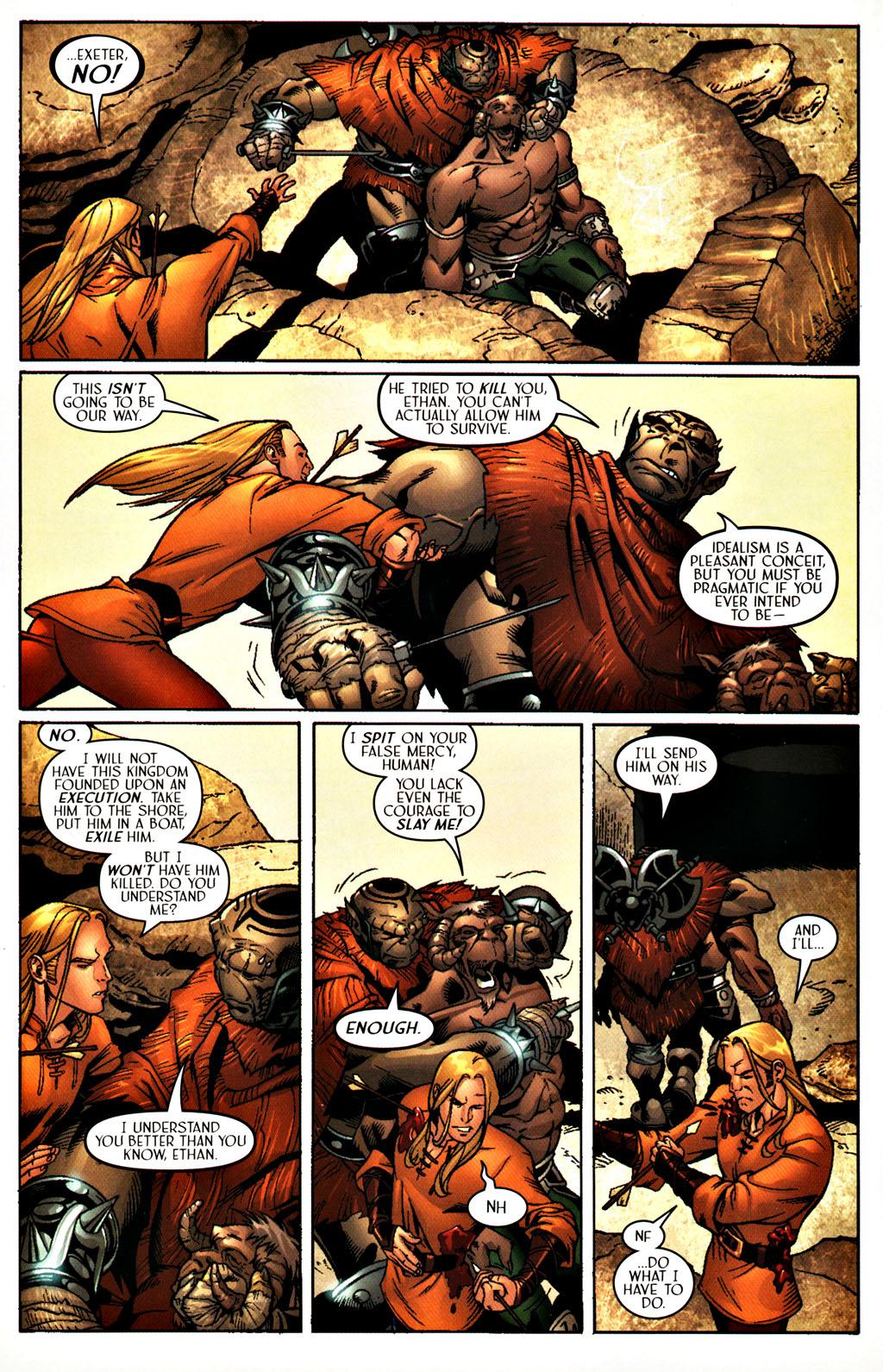 Read online Scion comic -  Issue #27 - 19