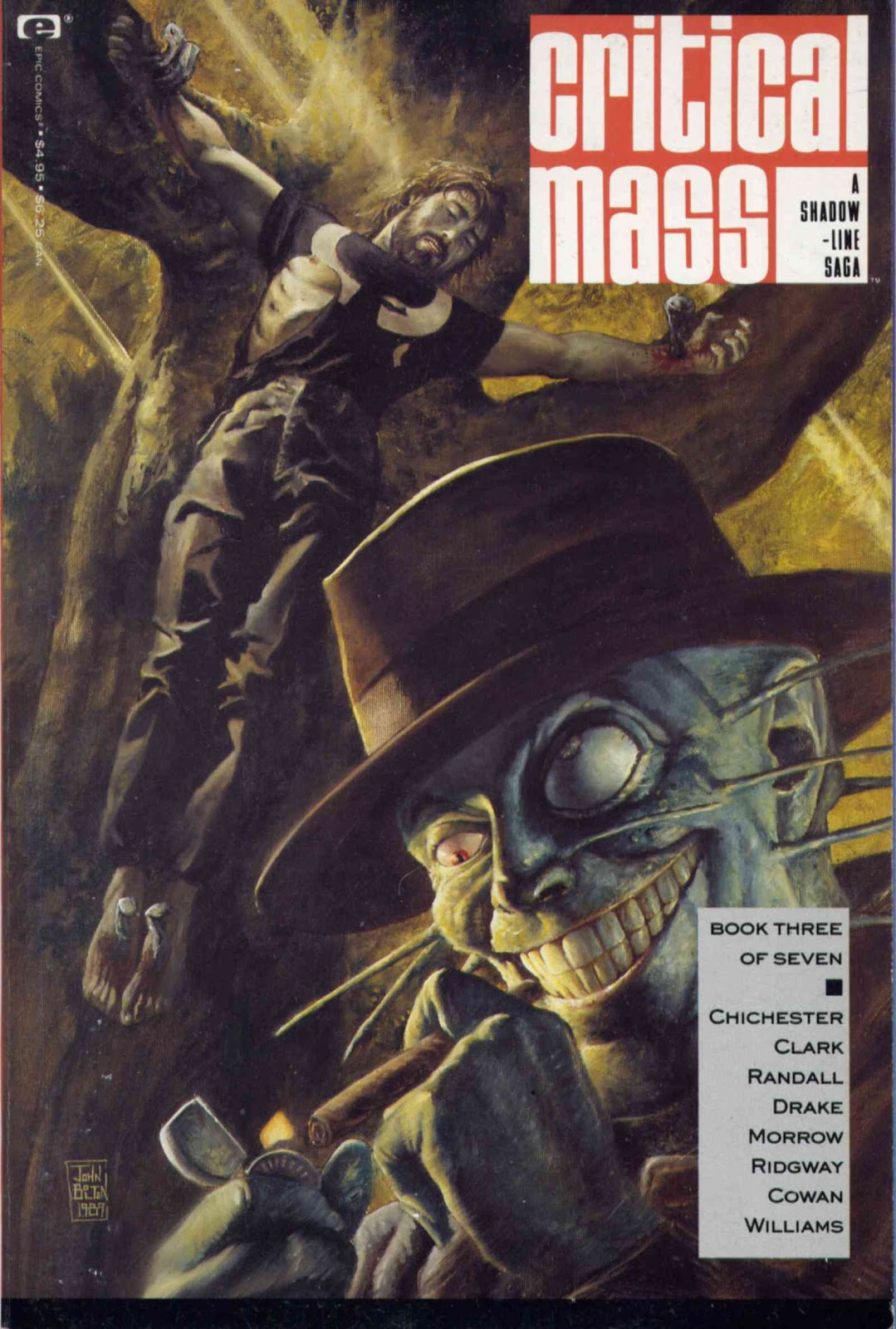 A Shadowline Saga: Critical Mass 3 Page 1