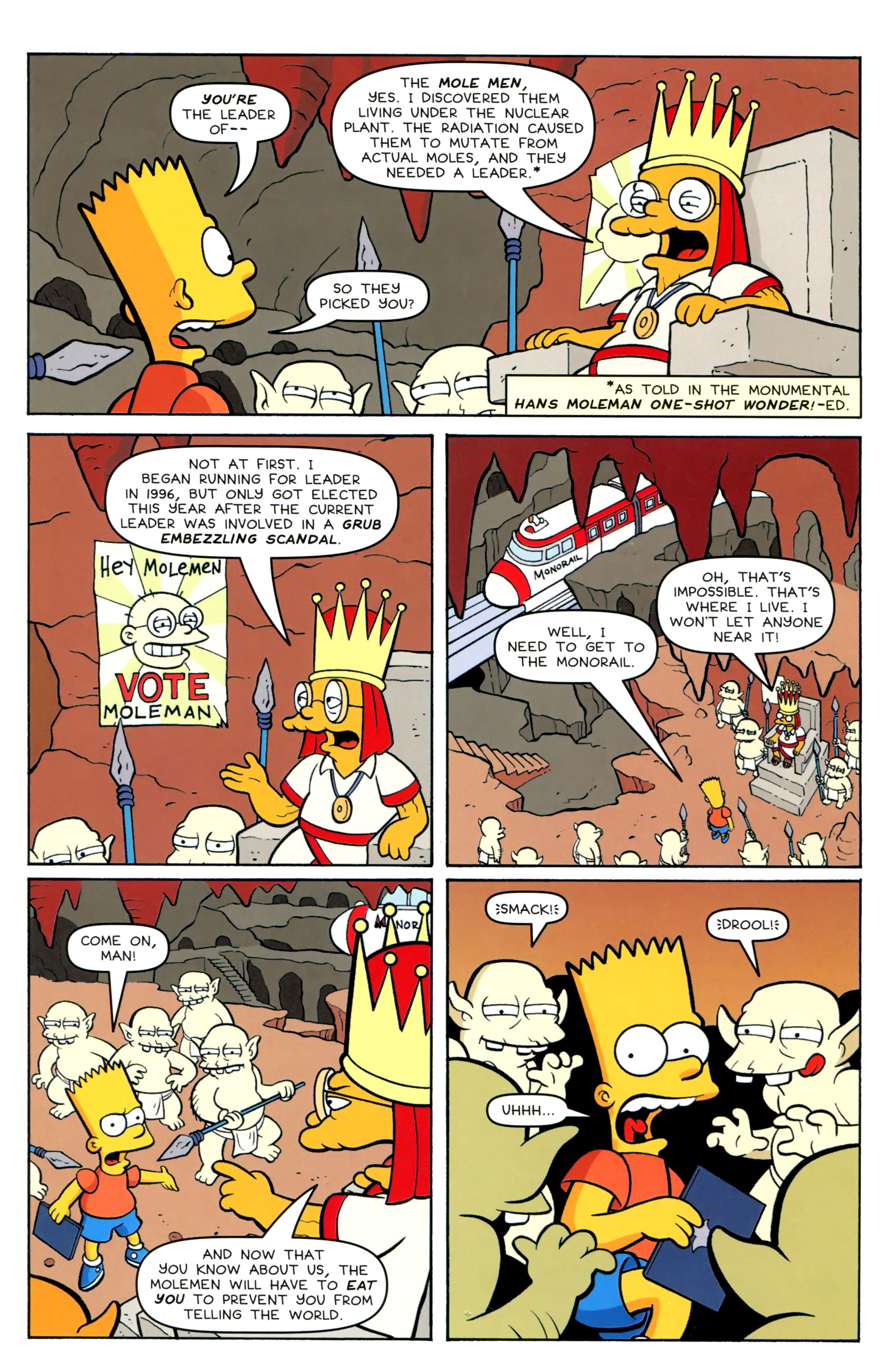 Read online Simpsons Comics Presents Bart Simpson comic -  Issue #100 - 24