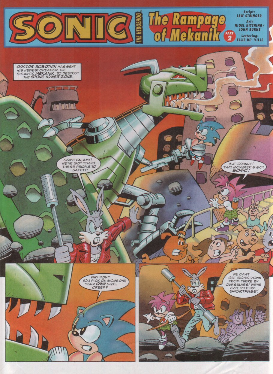 Read online Sonic the Comic comic -  Issue #58 - 3