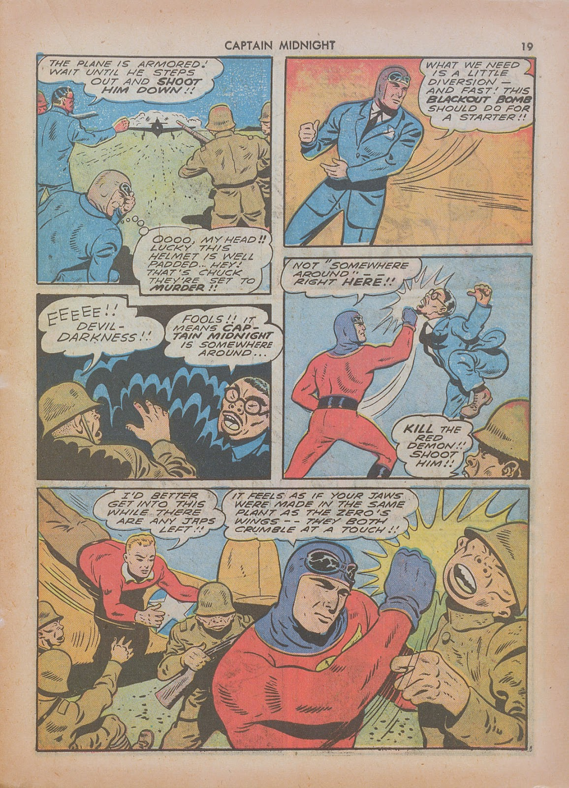 Captain Midnight (1942) issue 7 - Page 19