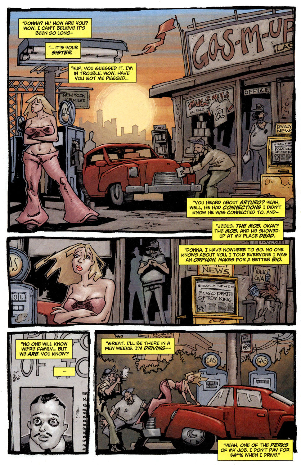 Read online Enginehead comic -  Issue #3 - 8