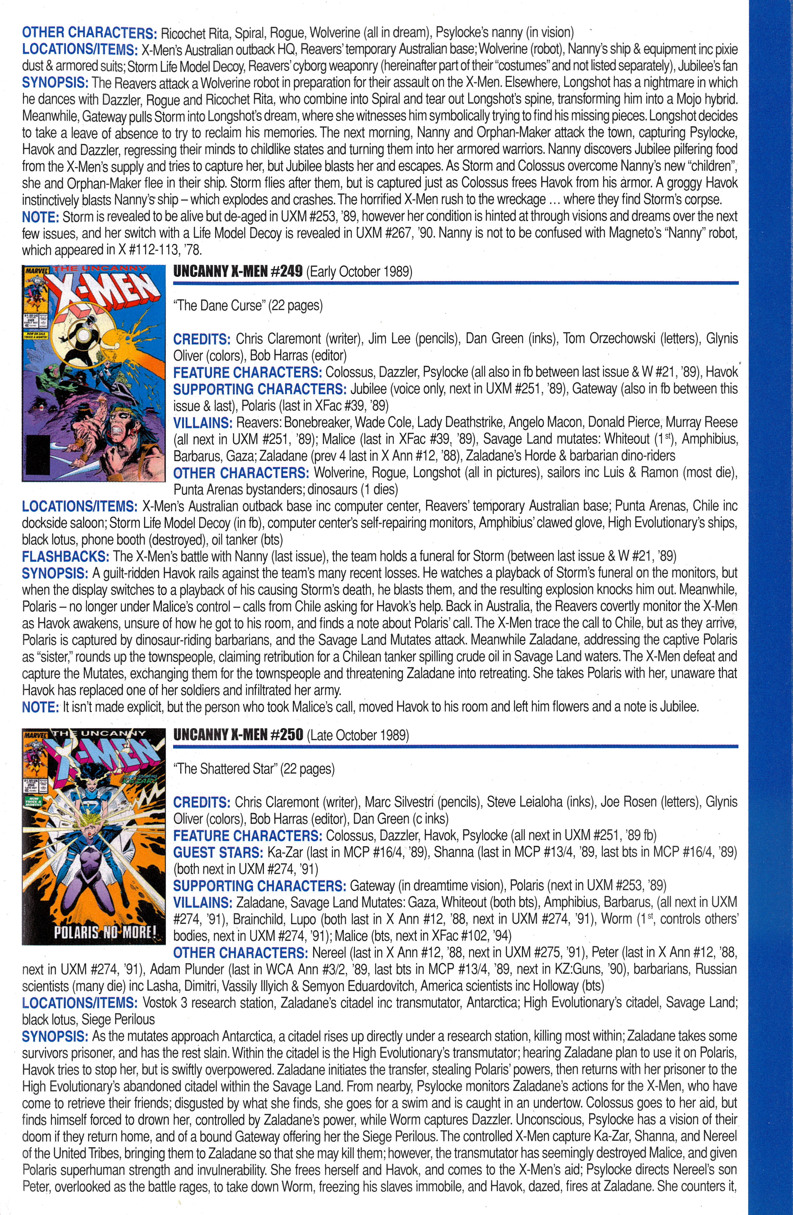 Read online Official Index to the Marvel Universe comic -  Issue #6 - 57