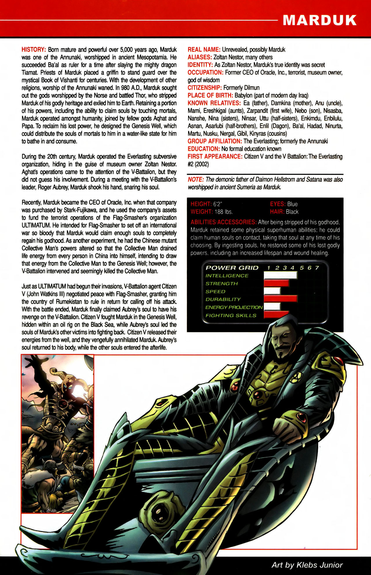 Read online All-New Official Handbook of the Marvel Universe A to Z comic -  Issue #7 - 9