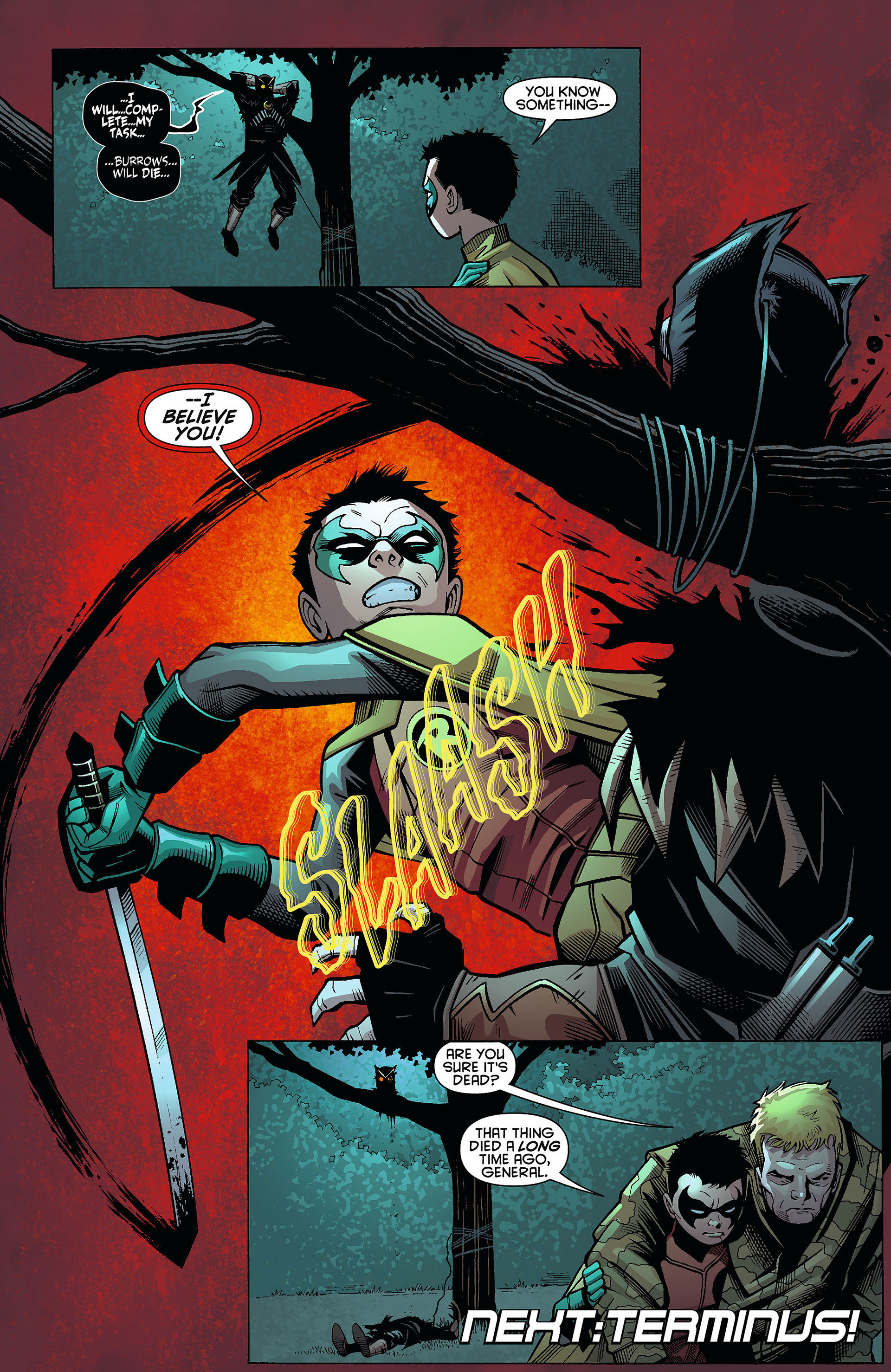 Read online Batman and Robin (2011) comic -  Issue #9 - 20