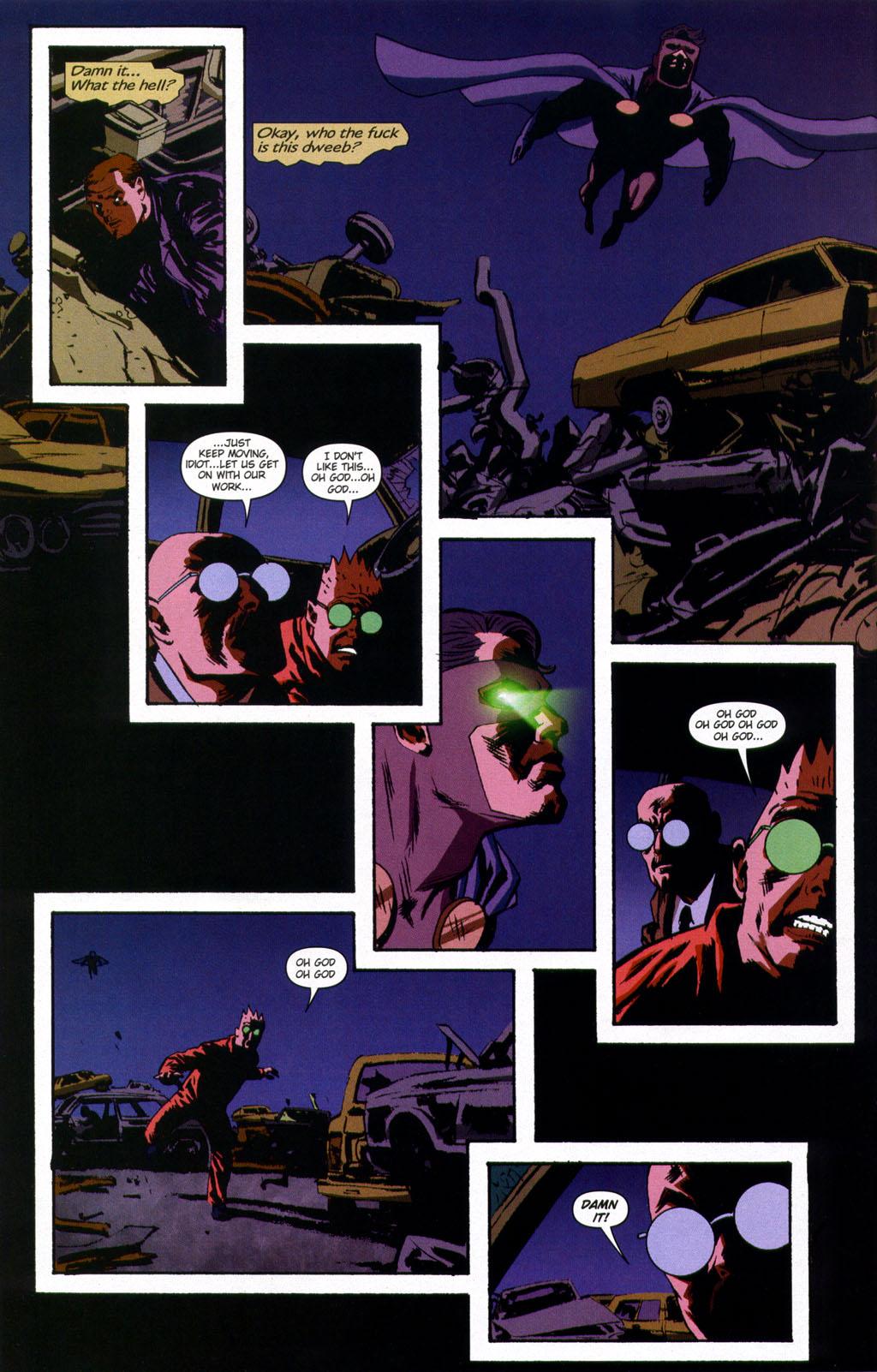 Read online Sleeper comic -  Issue #9 - 19