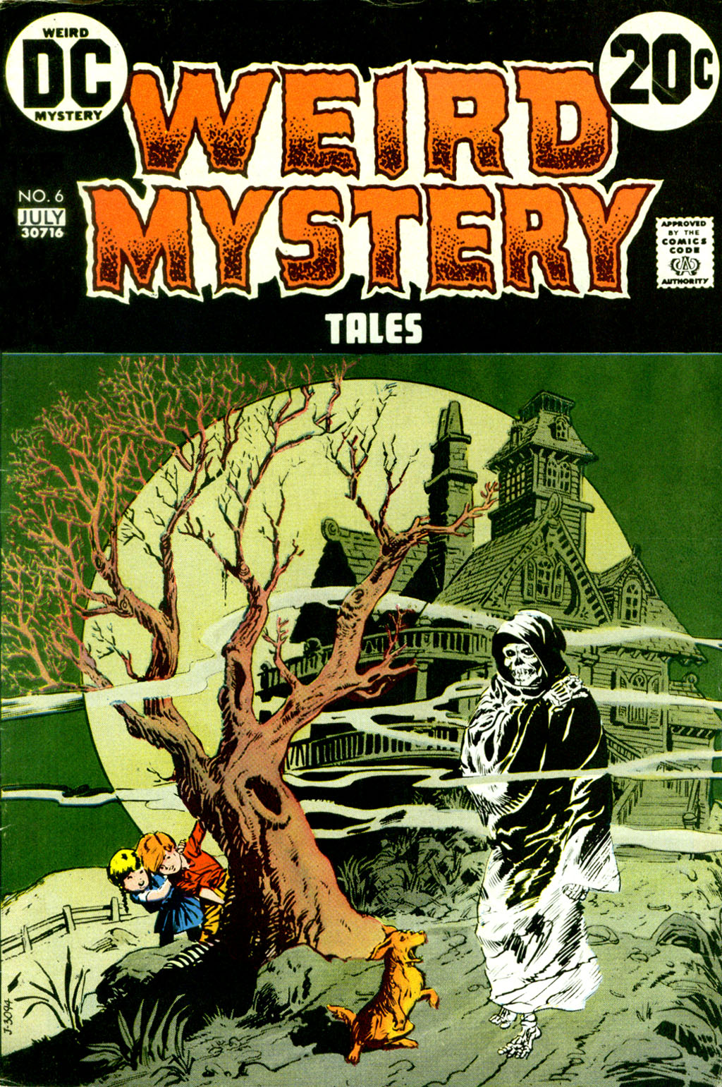 Weird Mystery Tales issue 6 - Page 1