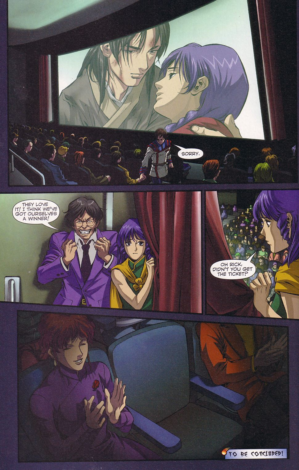 Read online Robotech: Love and War comic -  Issue #5 - 22