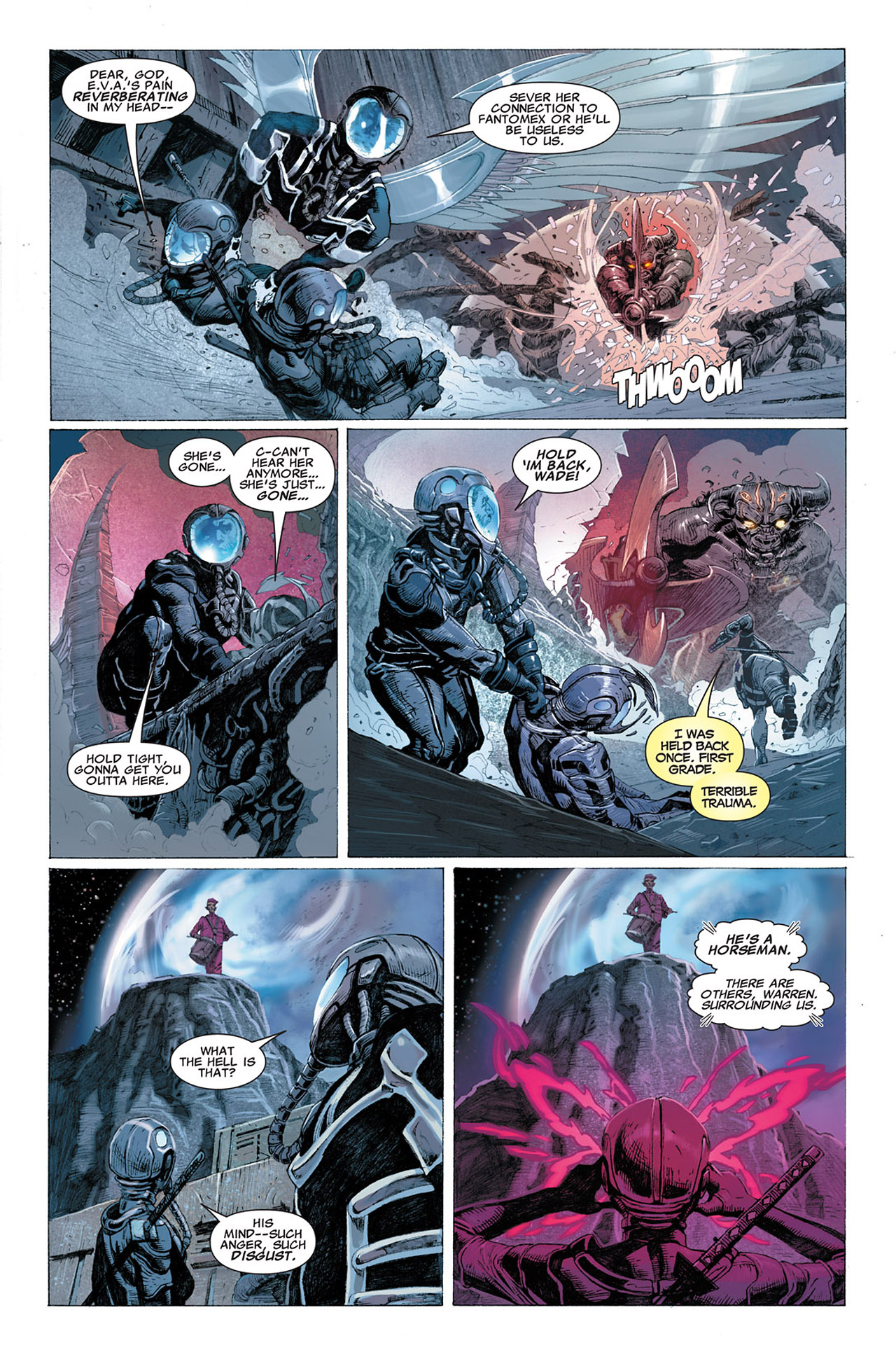 Read online Uncanny X-Force (2010) comic -  Issue #2 - 18