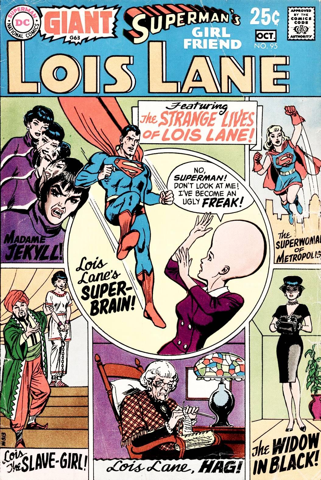 Supermans Girl Friend, Lois Lane 95 Page 1
