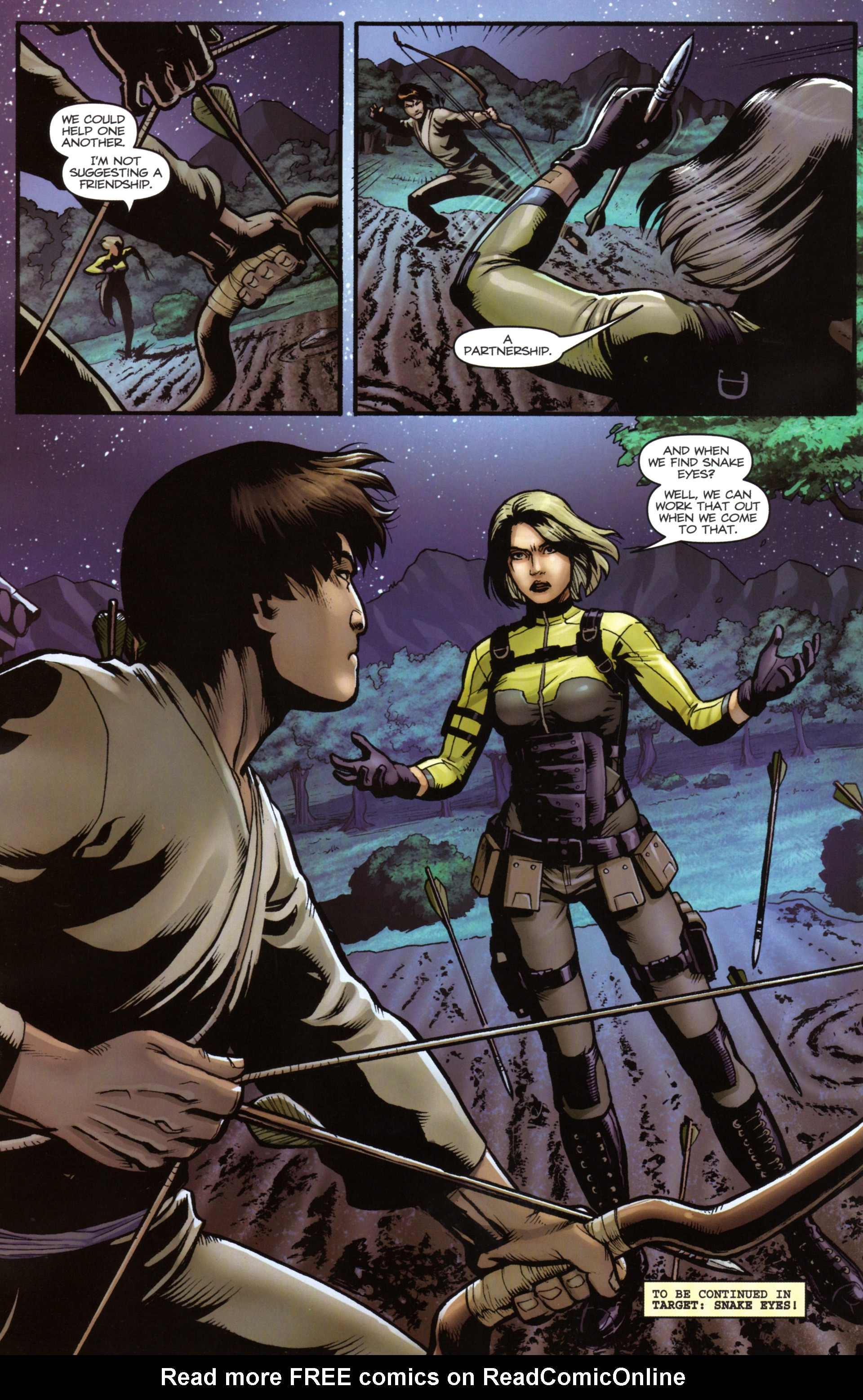 Read online Snake Eyes and Storm Shadow comic -  Issue #17 - 24