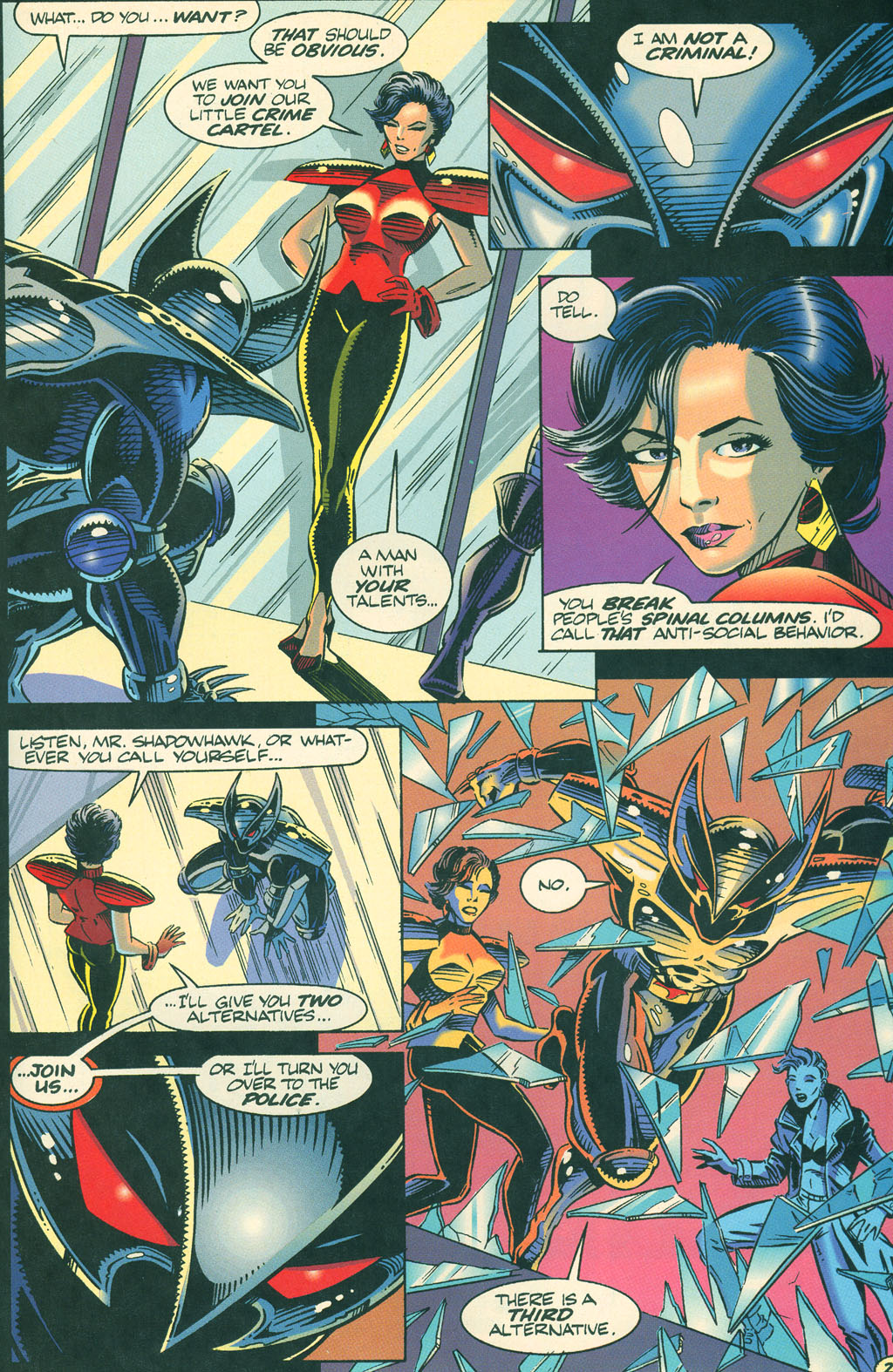 Read online ShadowHawk comic -  Issue #4 - 25