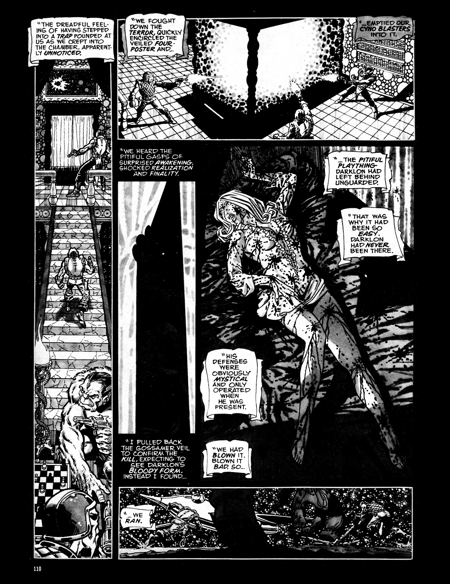 Read online Eerie Archives comic -  Issue # TPB 16 - 111