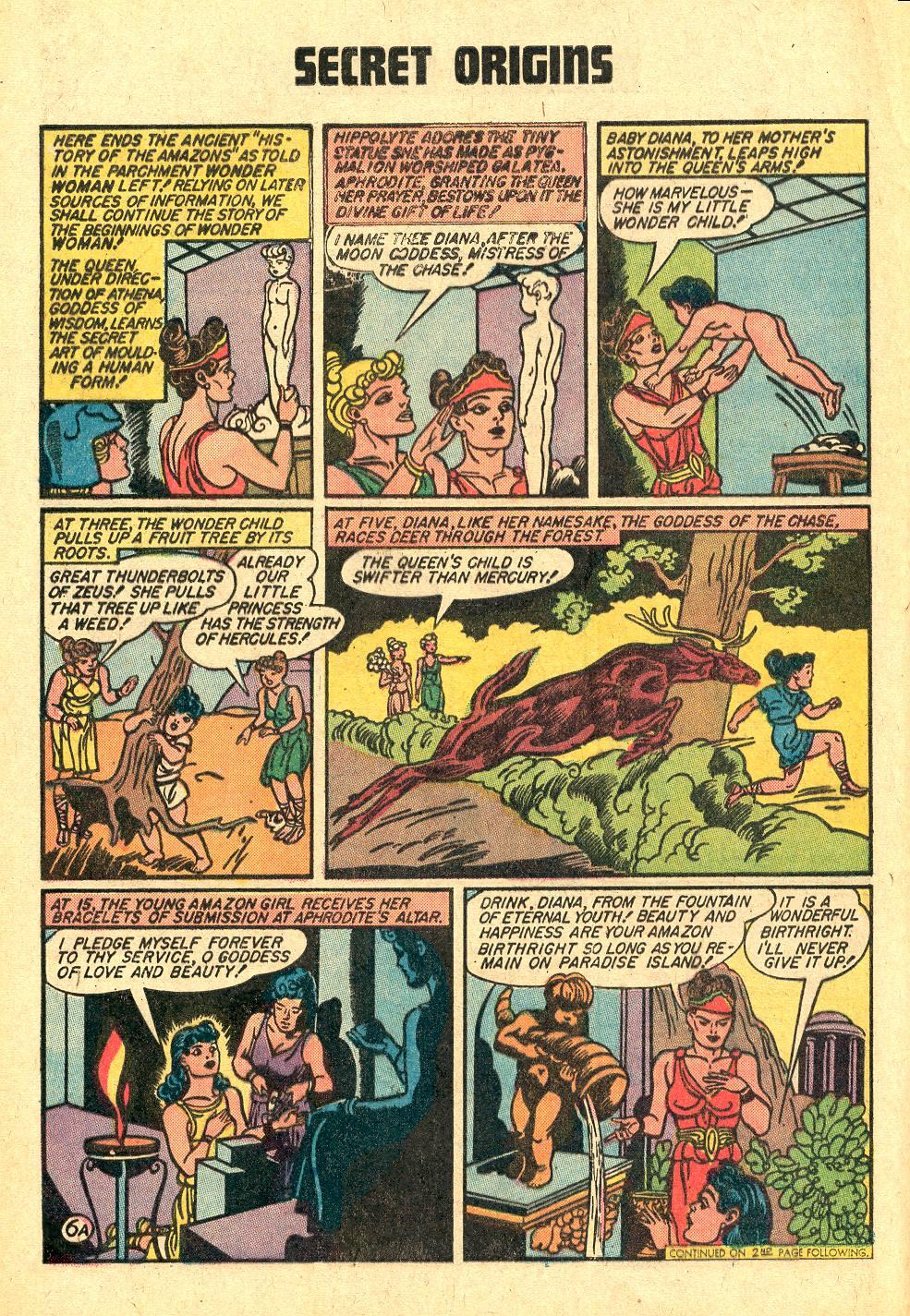 Read online Secret Origins (1973) comic -  Issue #3 - 8