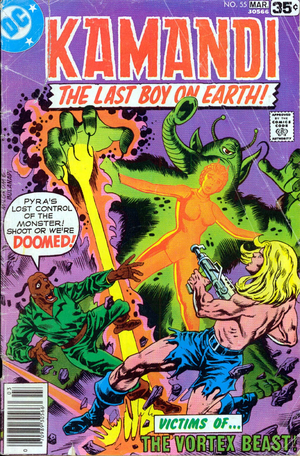 Kamandi, The Last Boy On Earth issue 55 - Page 1