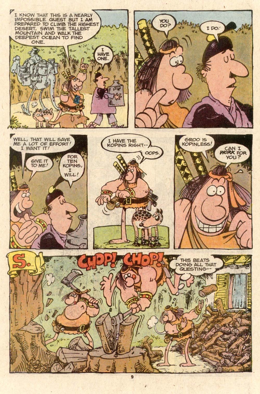 Read online Sergio Aragonés Groo the Wanderer comic -  Issue #40 - 10