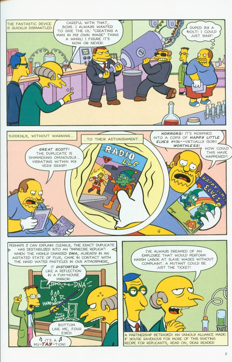 Read online Treehouse of Horror comic -  Issue #7 - 48