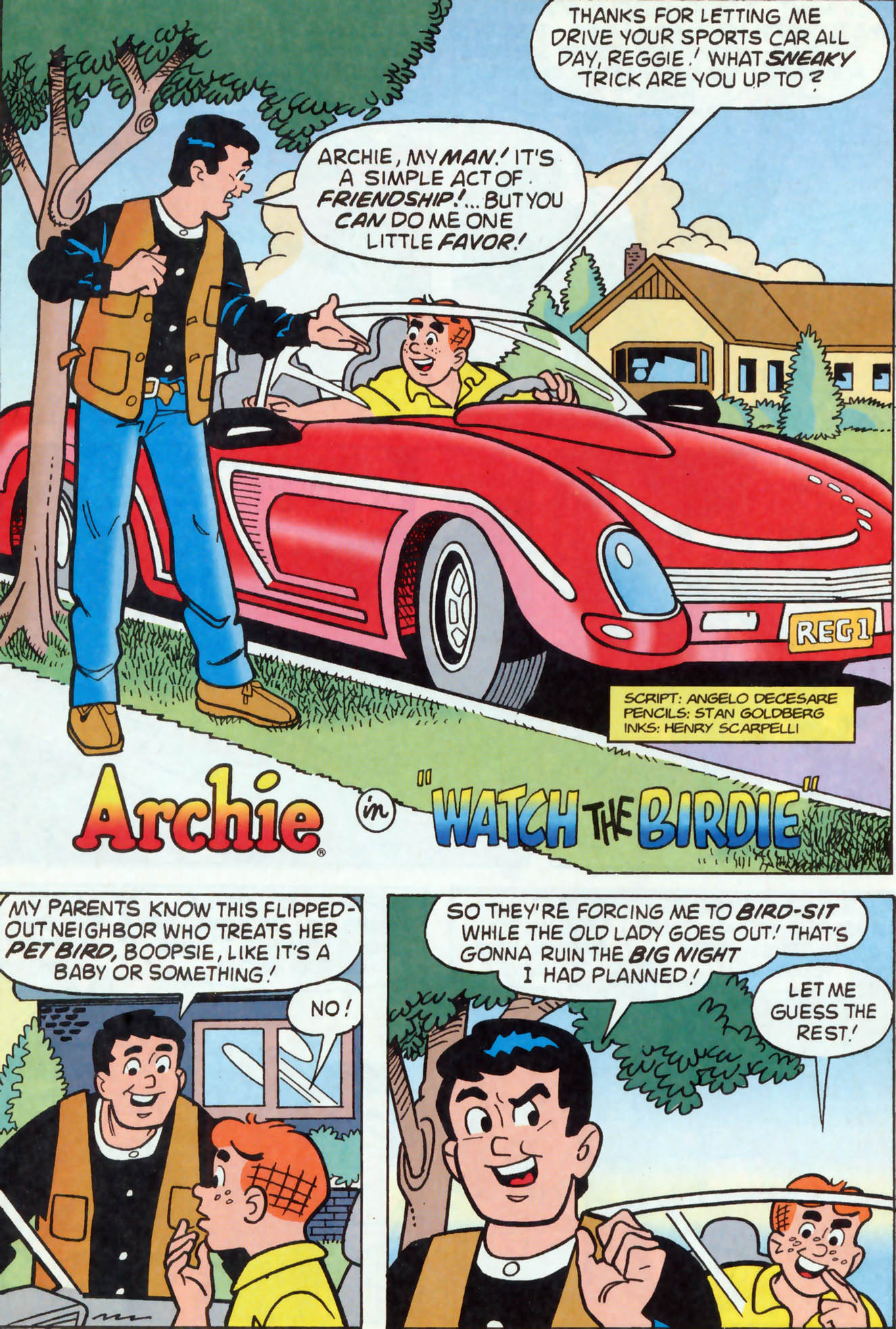 Read online Archie (1960) comic -  Issue #460 - 8
