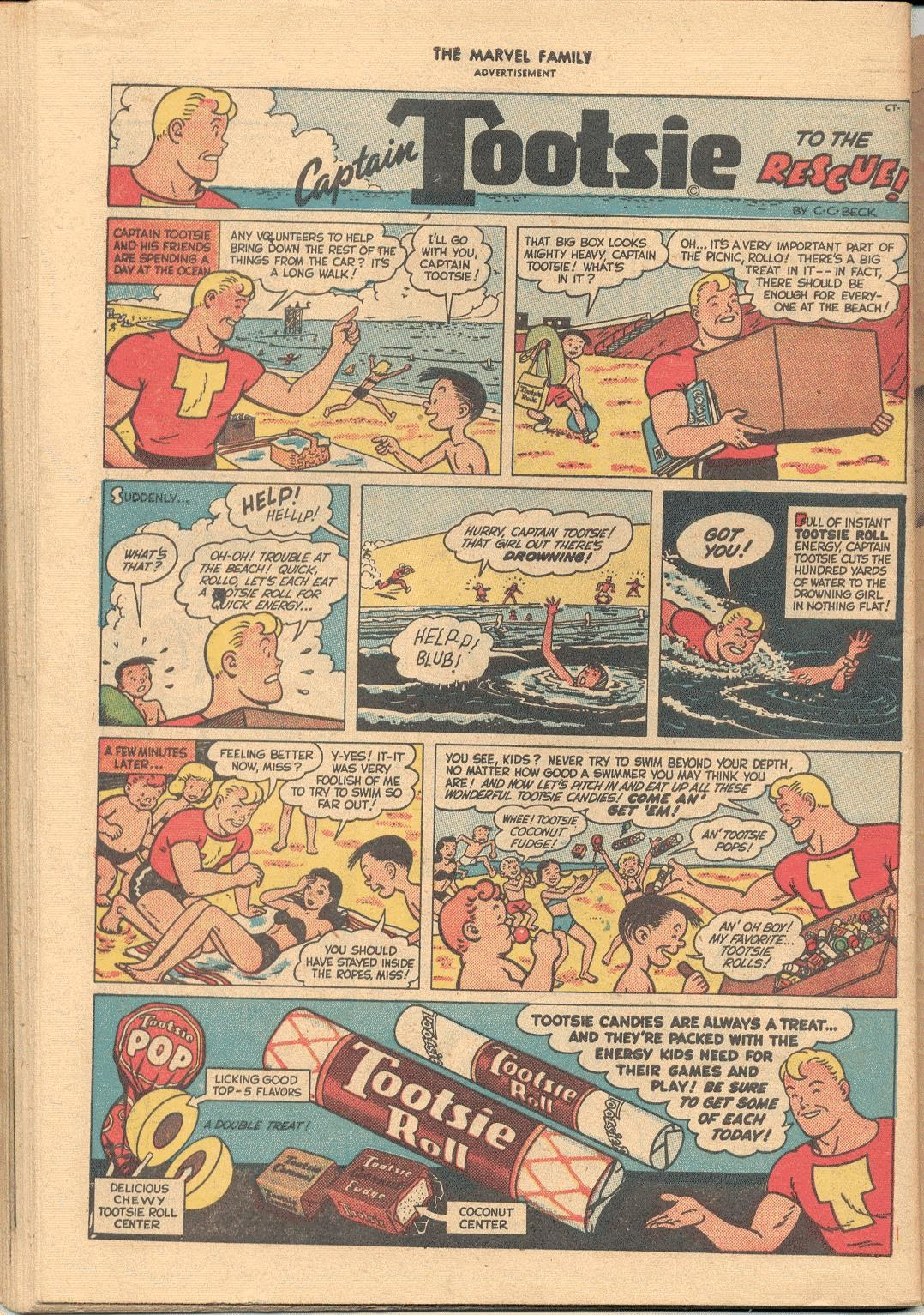 The Marvel Family issue 38 - Page 50
