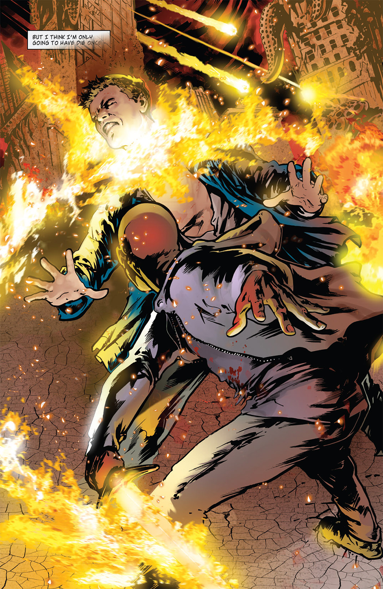 Read online Angel: After The Fall comic -  Issue #16 - 12