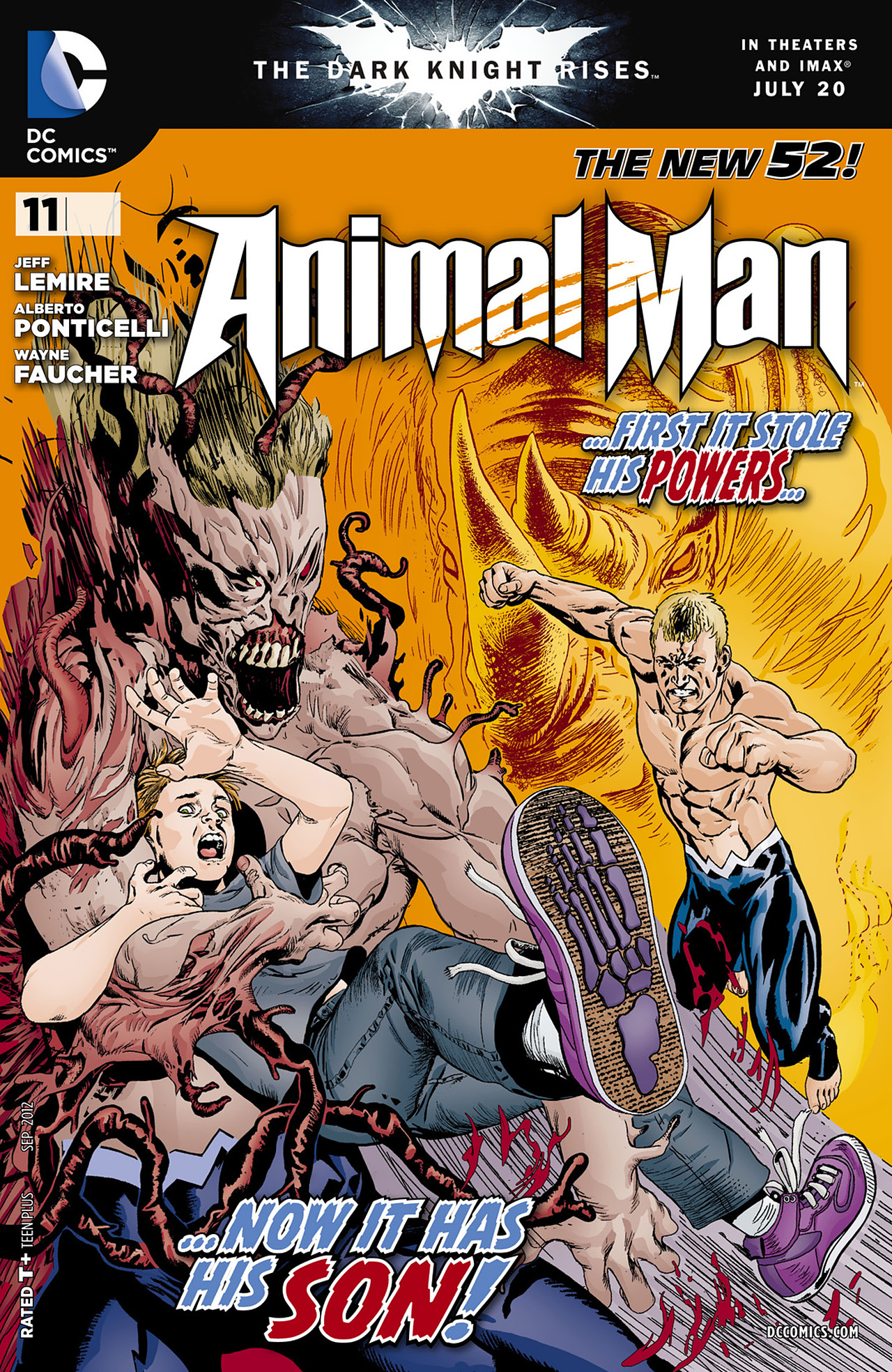 Animal Man (2011) 11 Page 1