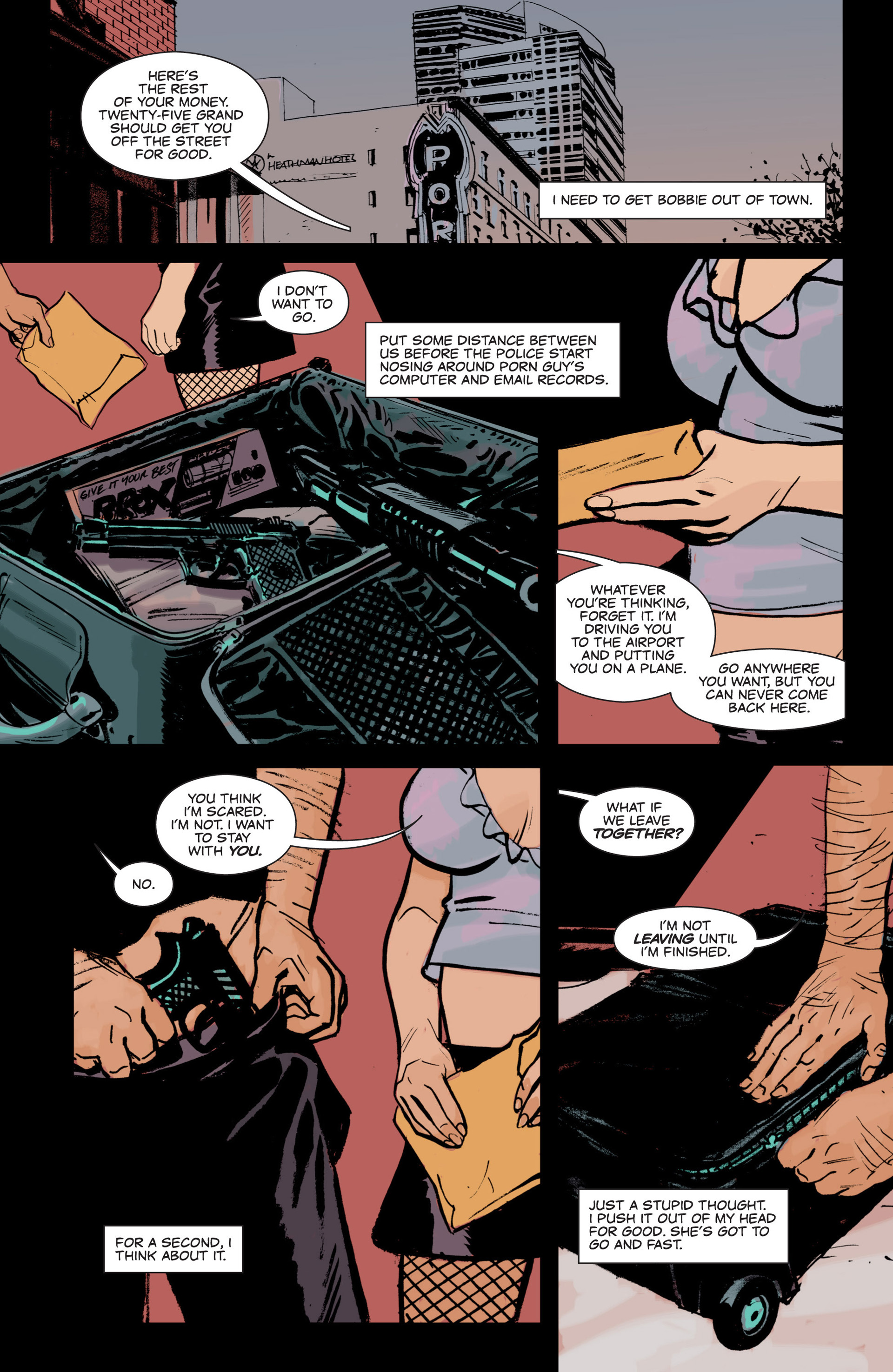 Read online Sex and Violence comic -  Issue # Full - 20