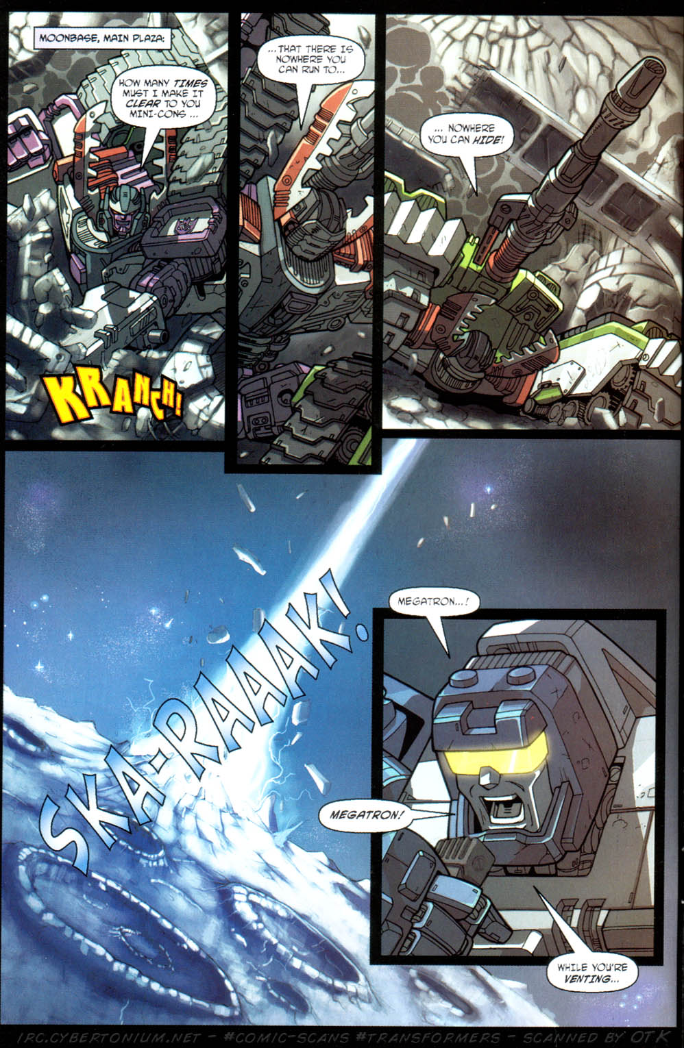 Read online Transformers Armada comic -  Issue #11 - 10