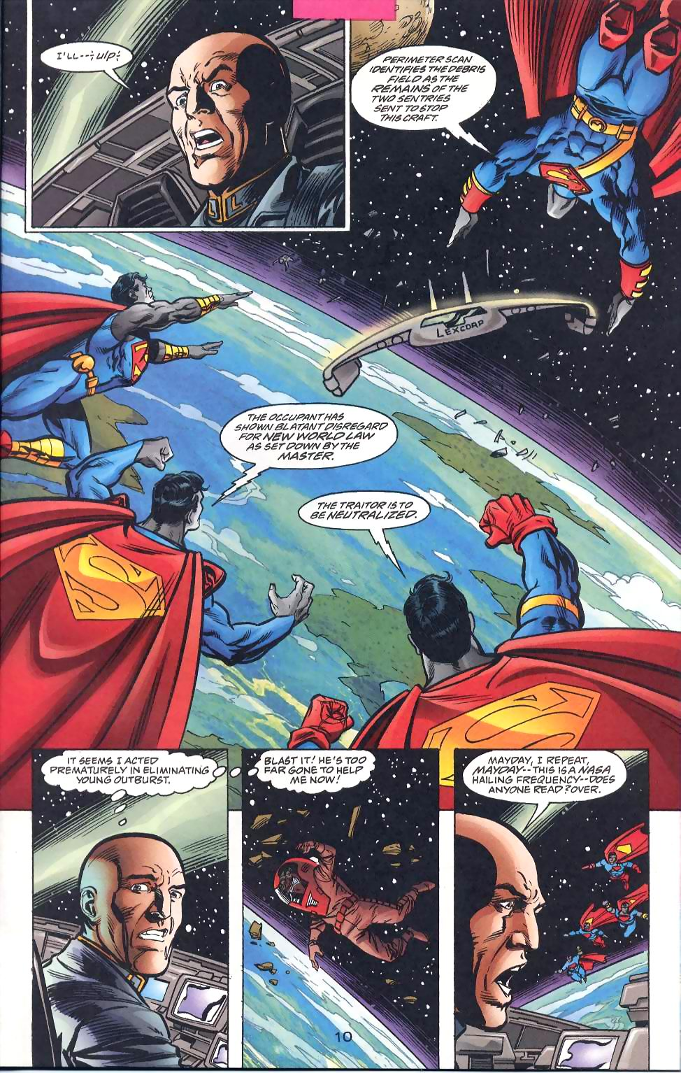 Read online Adventures of Superman (1987) comic -  Issue #567 - 12