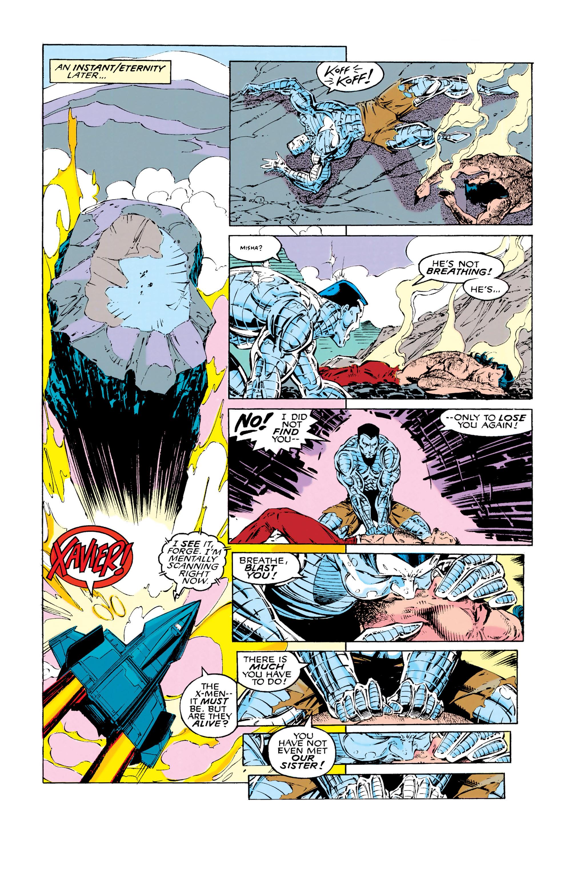 Read online Uncanny X-Men (1963) comic -  Issue #286 - 20