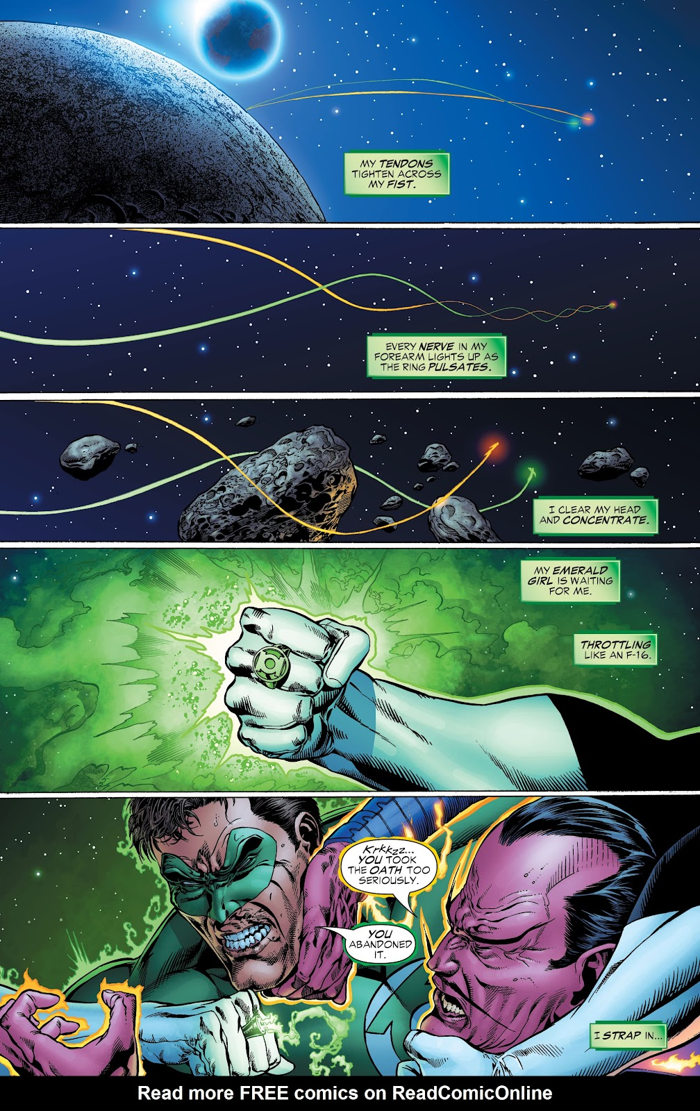 Read online Green Lantern by Geoff Johns comic -  Issue # TPB 1 (Part 2) - 17