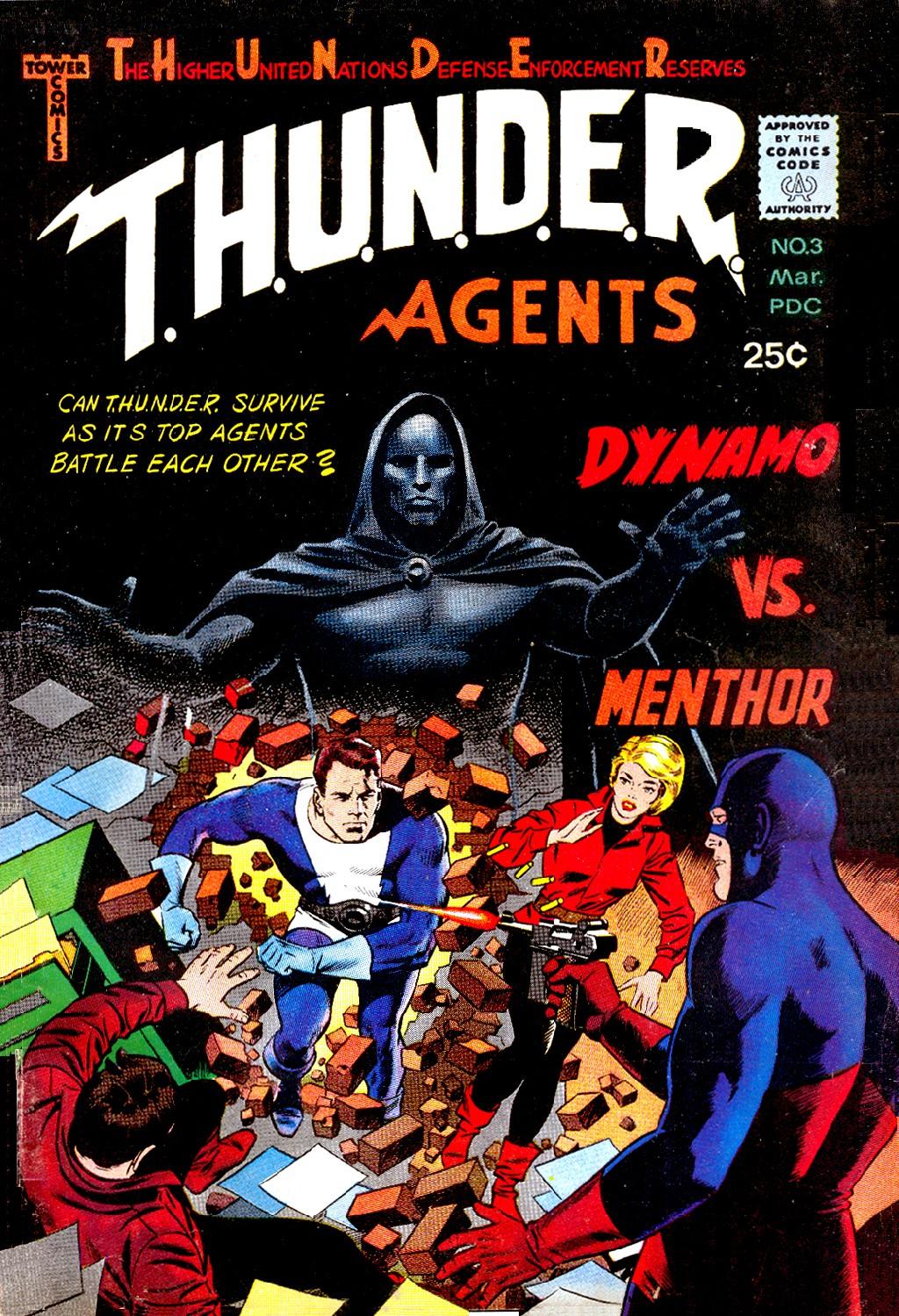 T.H.U.N.D.E.R. Agents (1965) 3 Page 1