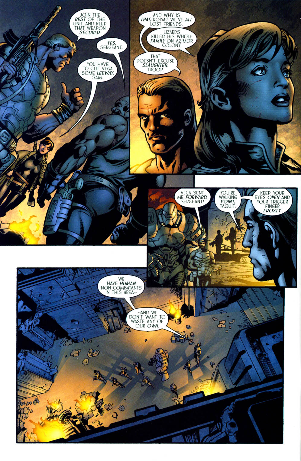 Read online Sigil (2000) comic -  Issue #35 - 5