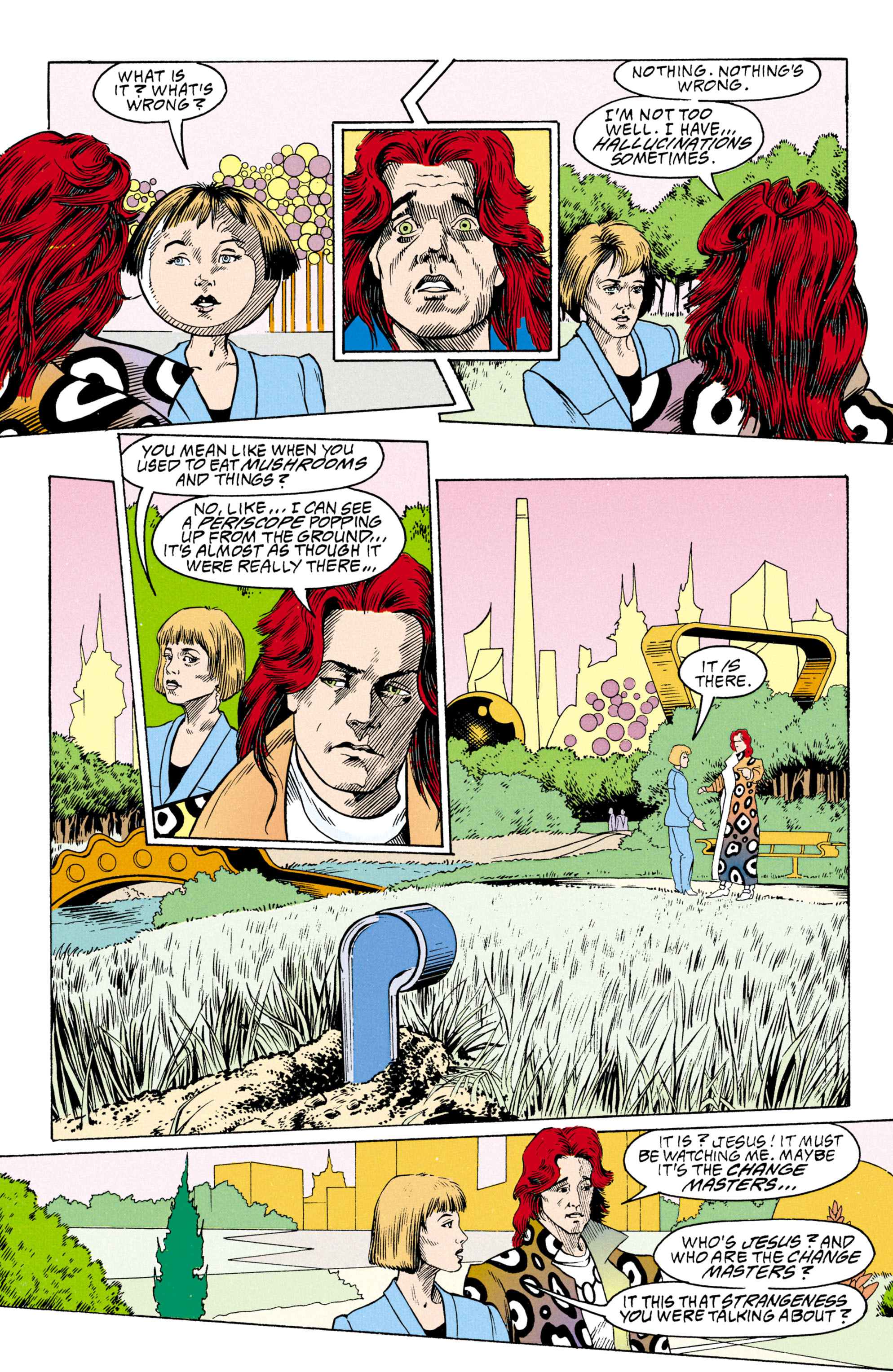 Read online Shade, the Changing Man comic -  Issue #30 - 13