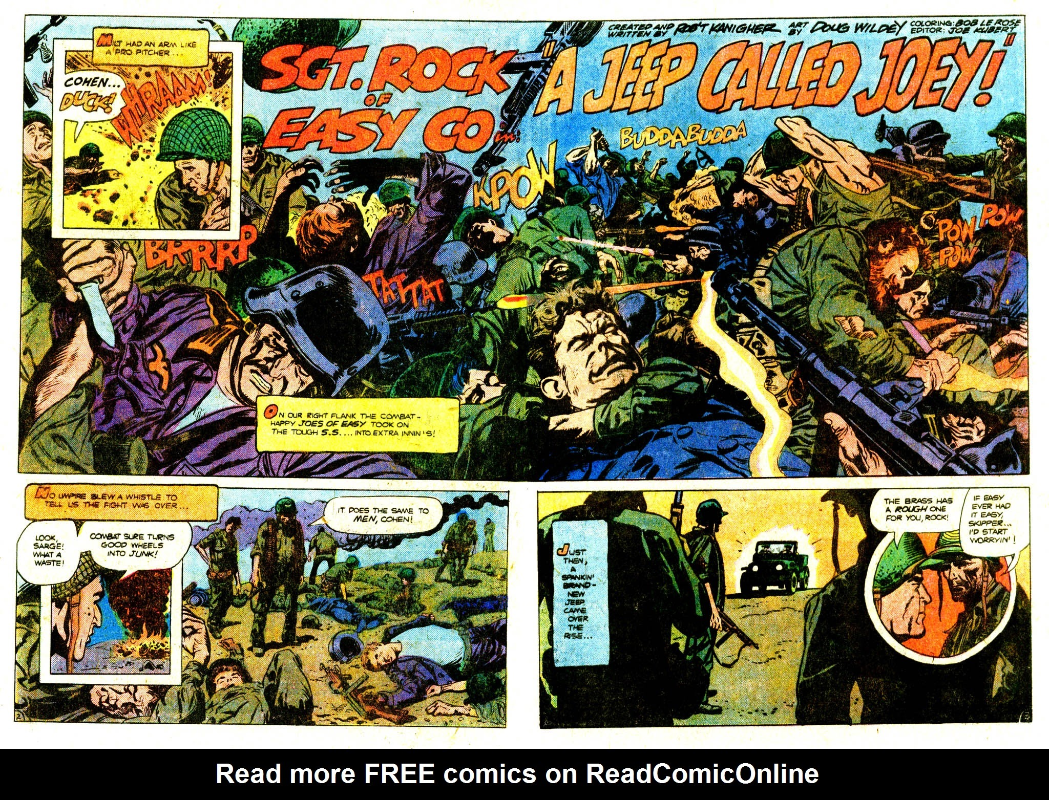 Read online Sgt. Rock comic -  Issue #313 - 4