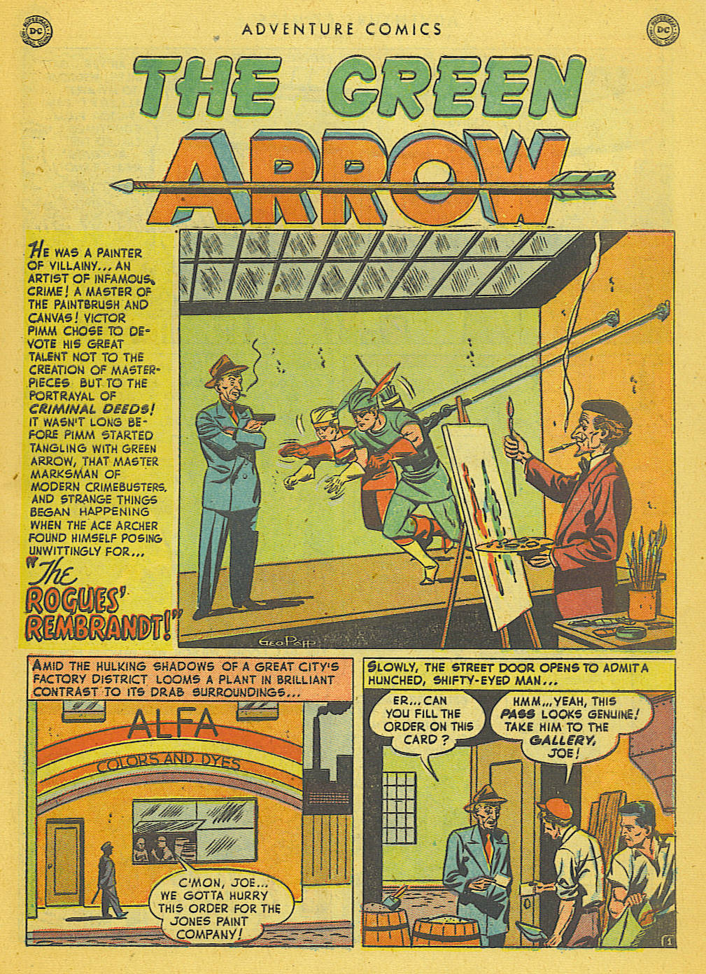 Read online Adventure Comics (1938) comic -  Issue #153 - 40