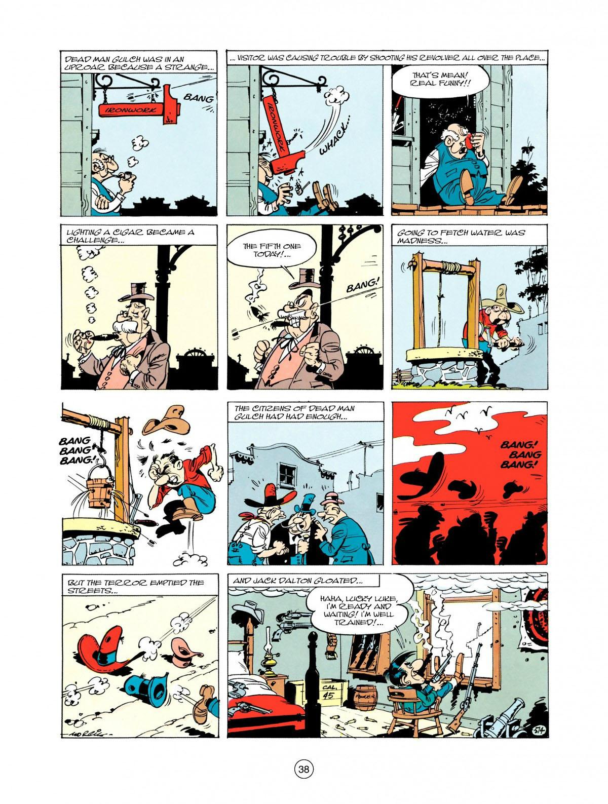 Read online A Lucky Luke Adventure comic -  Issue #28 - 39