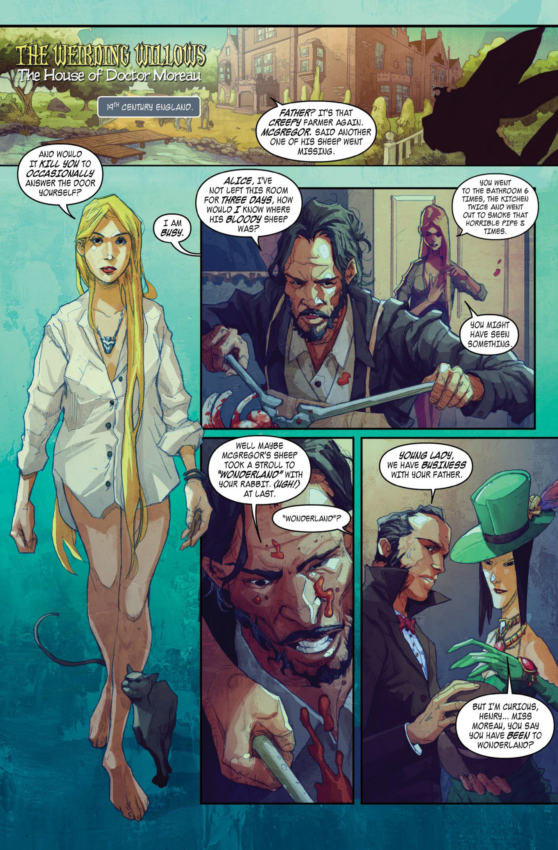 Read online A1 Presents The Weirding Willows comic -  Issue #A1 Presents The Weirding Willows Full - 3
