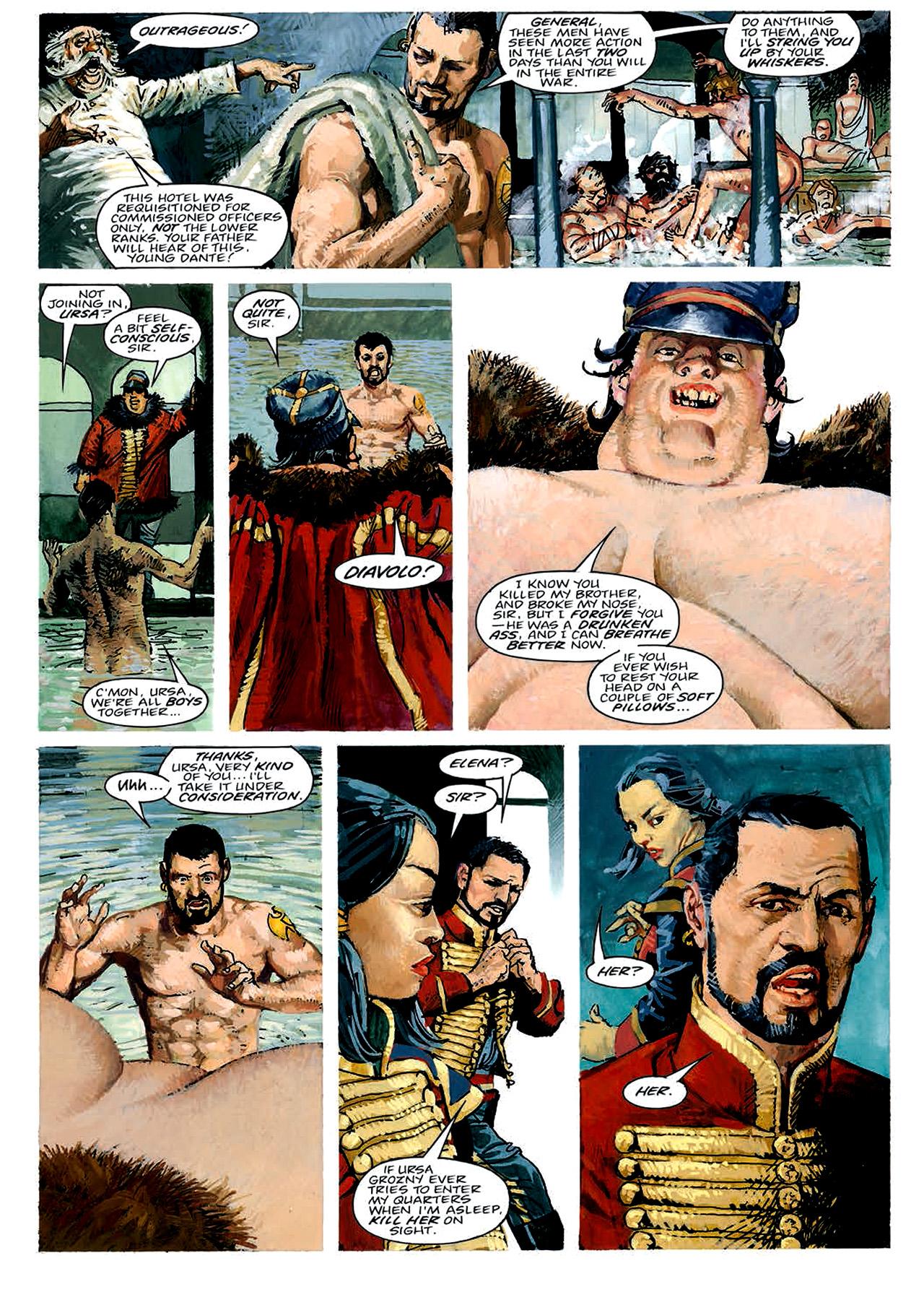 Read online Nikolai Dante comic -  Issue # TPB 4 - 50