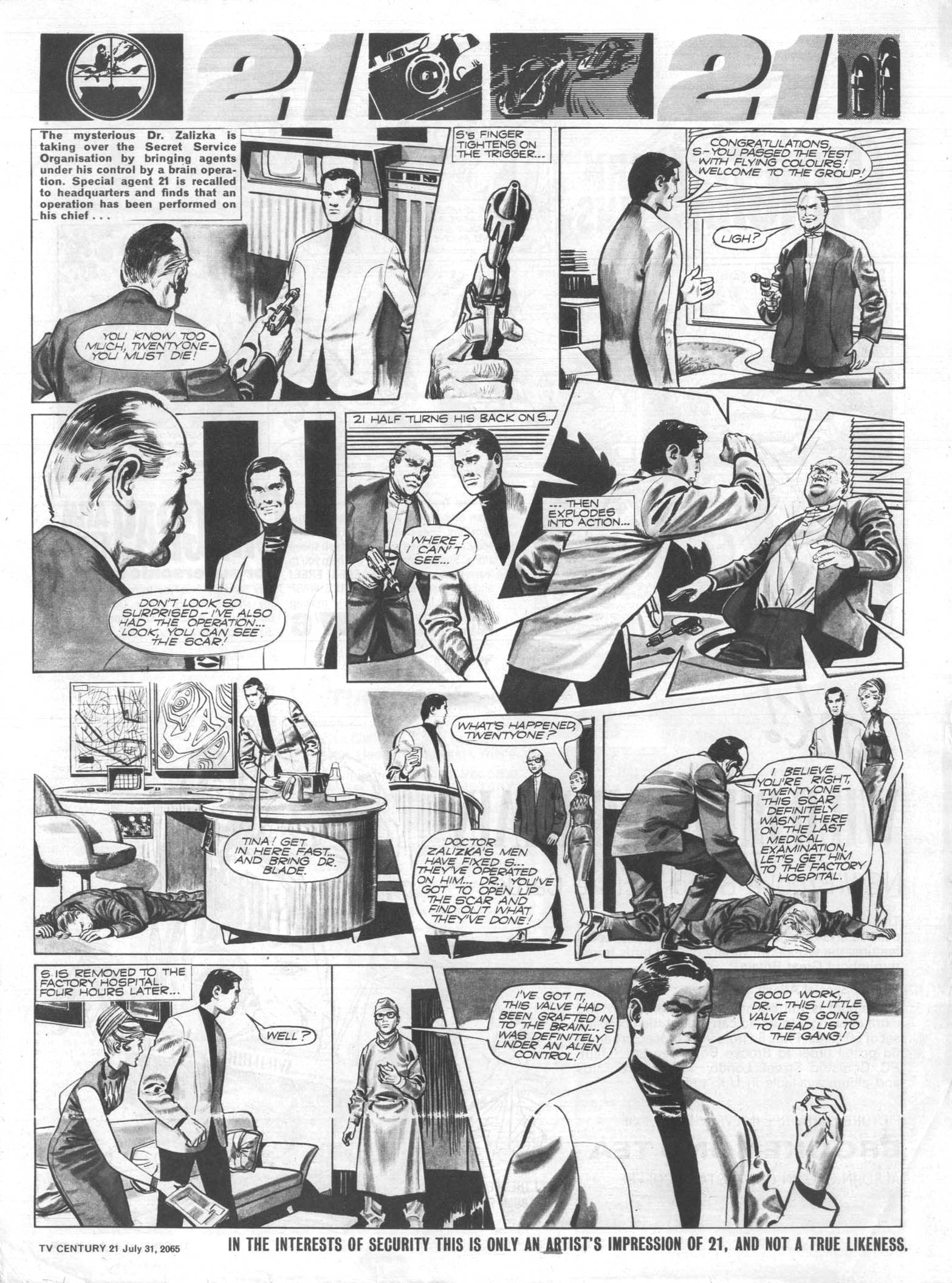 Read online TV Century 21 (TV 21) comic -  Issue #28 - 7