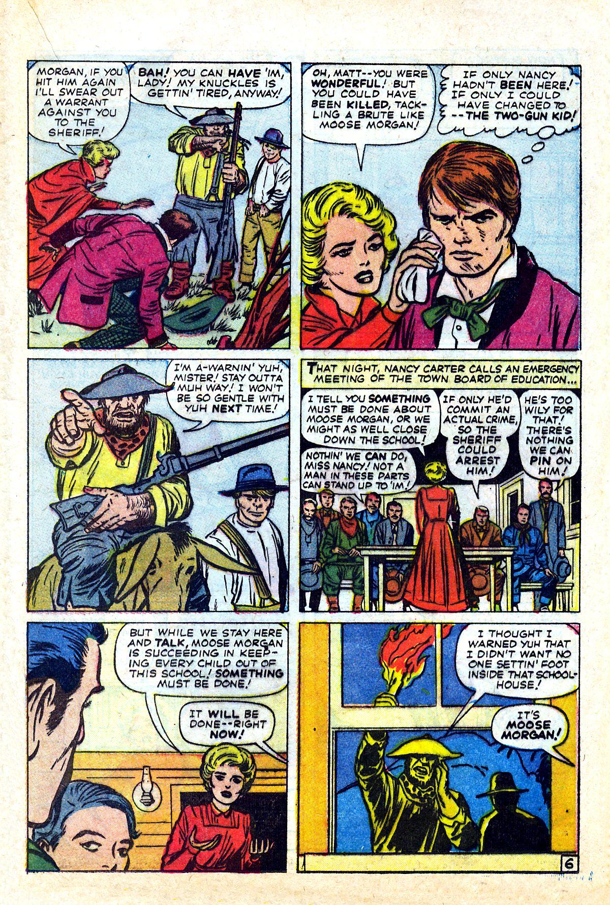 Read online Two-Gun Kid comic -  Issue #90 - 20