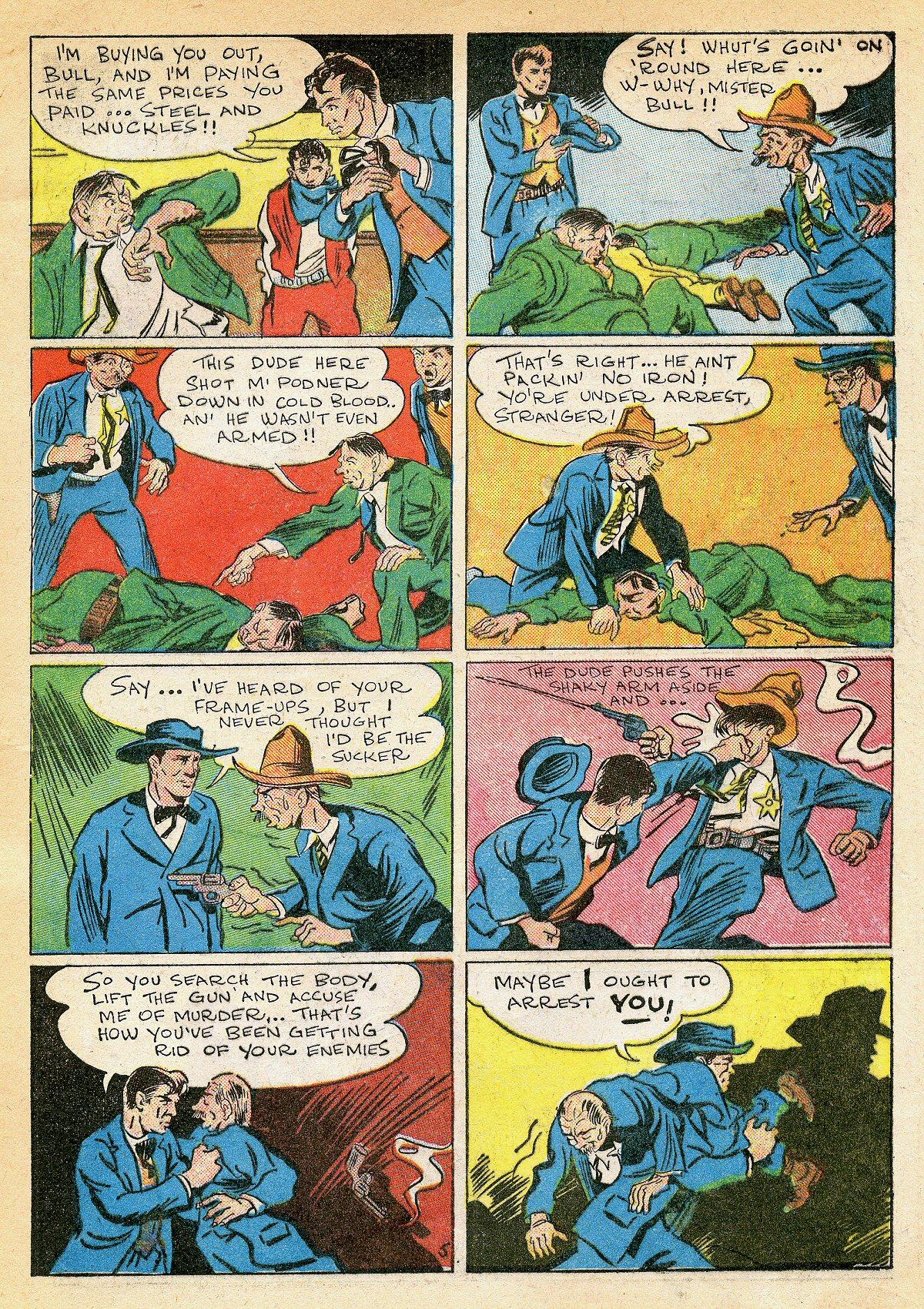 Read online Amazing Man Comics comic -  Issue #10 - 18