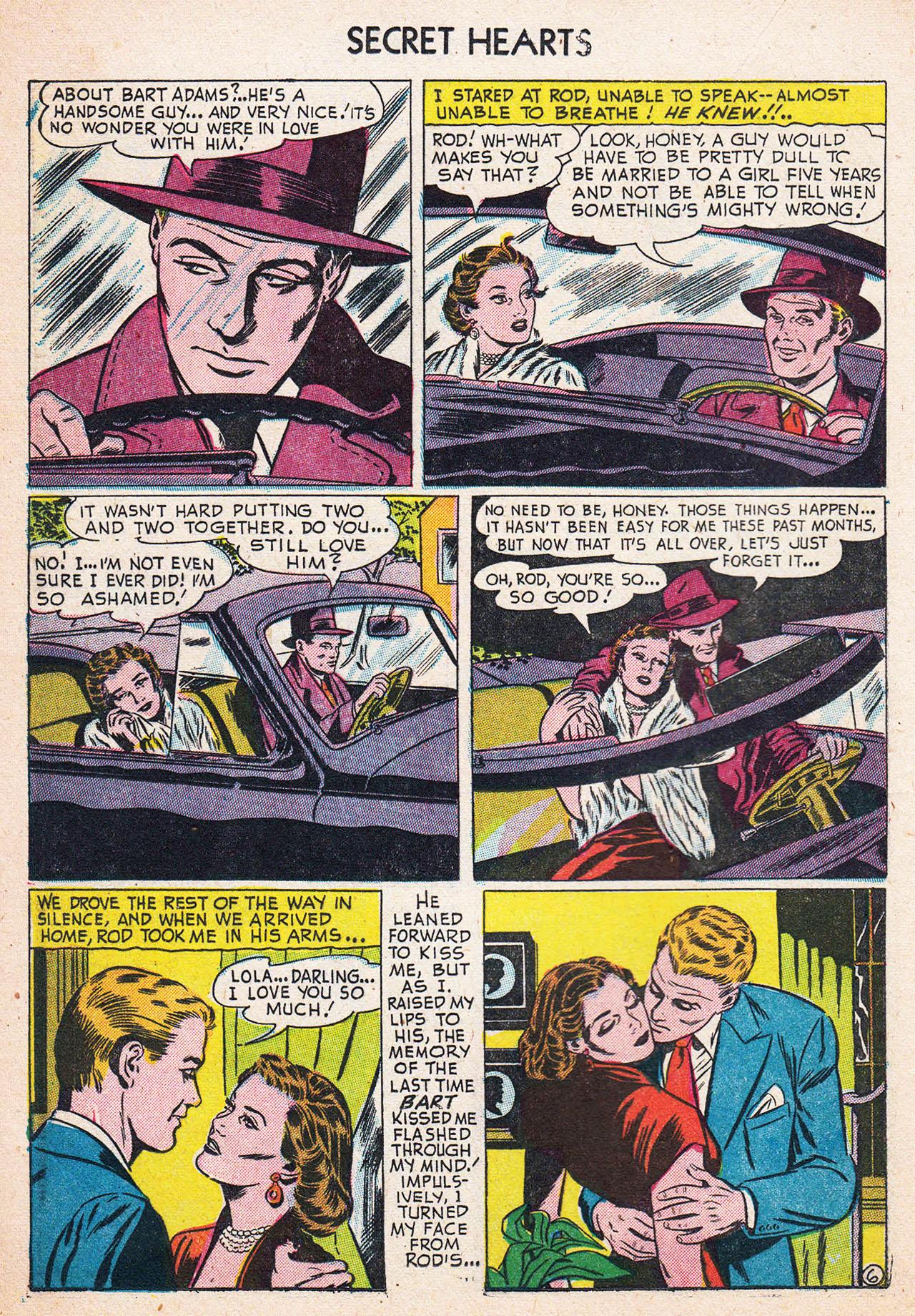 Read online Secret Hearts comic -  Issue #13 - 16