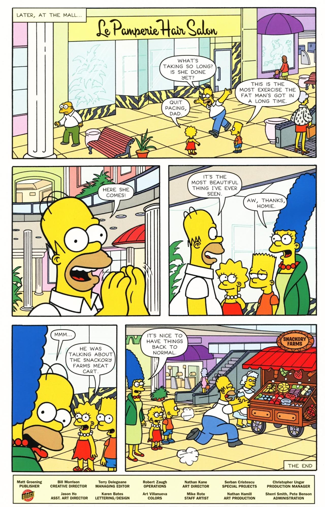Read online Simpsons Comics comic -  Issue #157 - 26